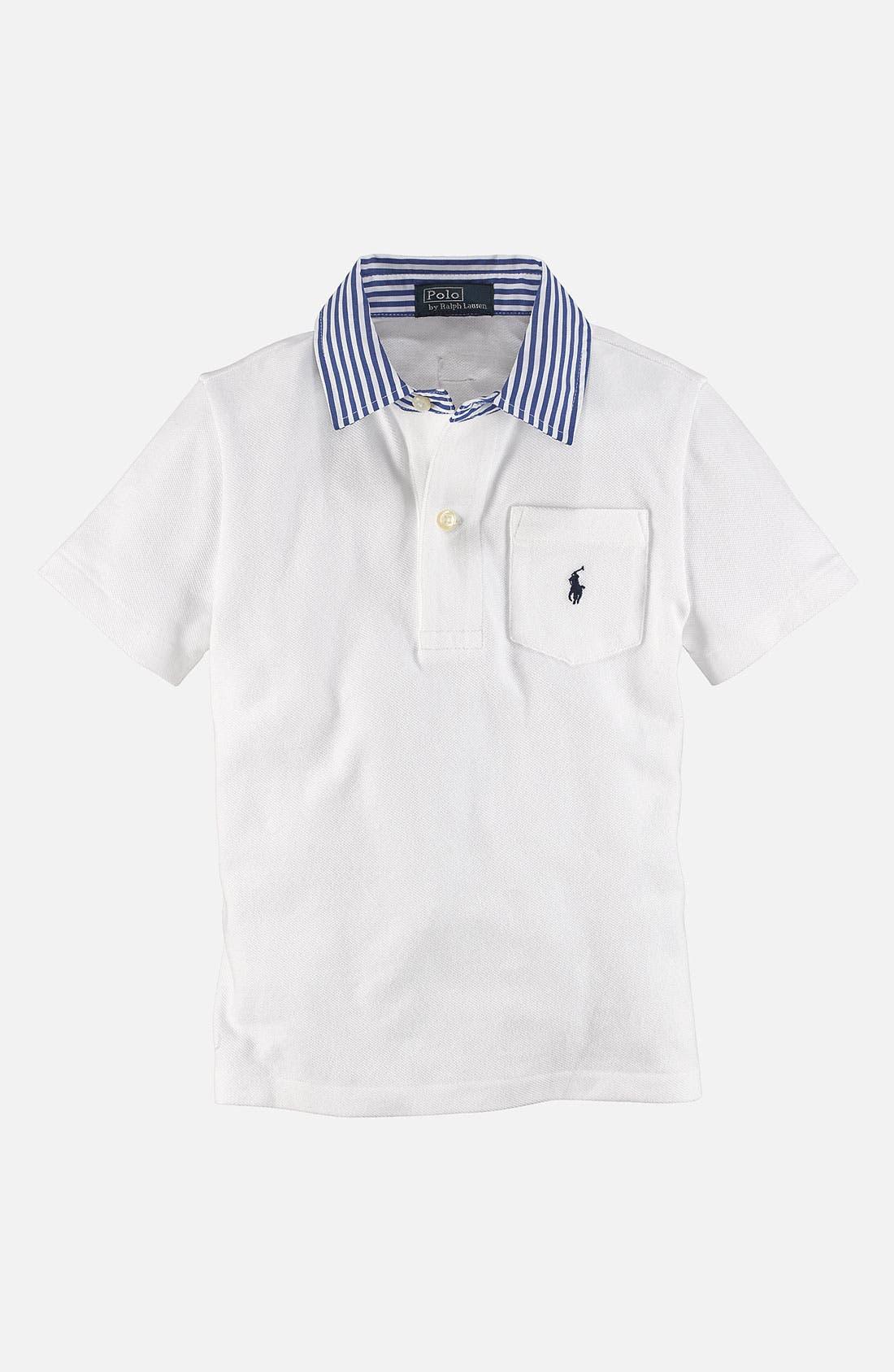 Main Image - Ralph Lauren Polo Shirt (Toddler)