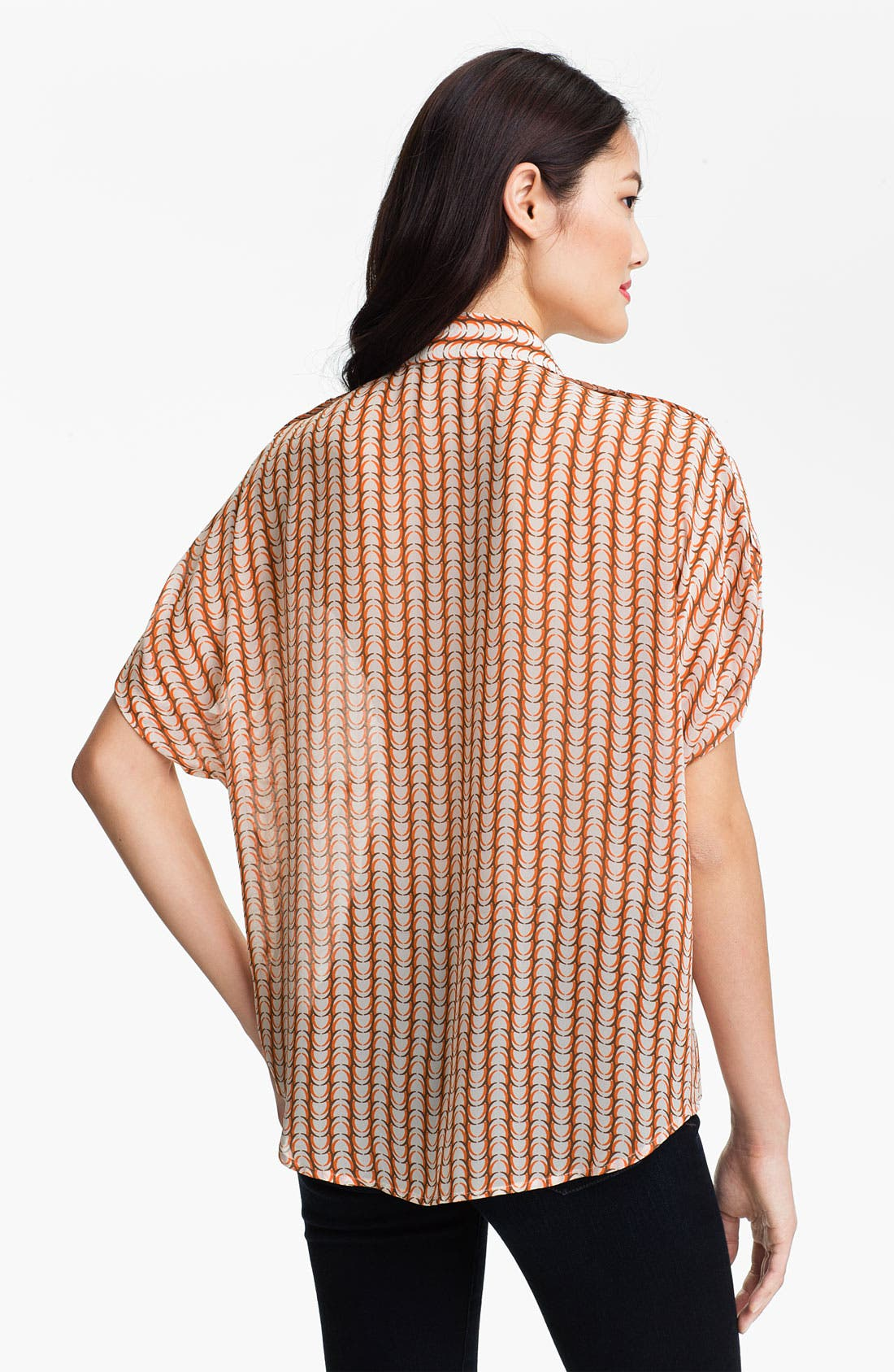 Alternate Image 2  - Vince Camuto 'Arch Stripe' Blouse