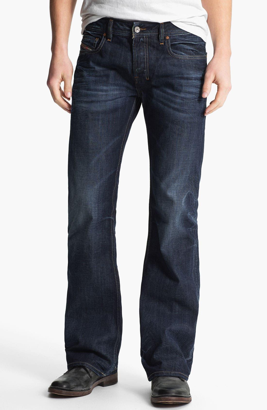 Alternate Image 2  - DIESEL® 'Zathan' Bootcut Jeans (0806U)