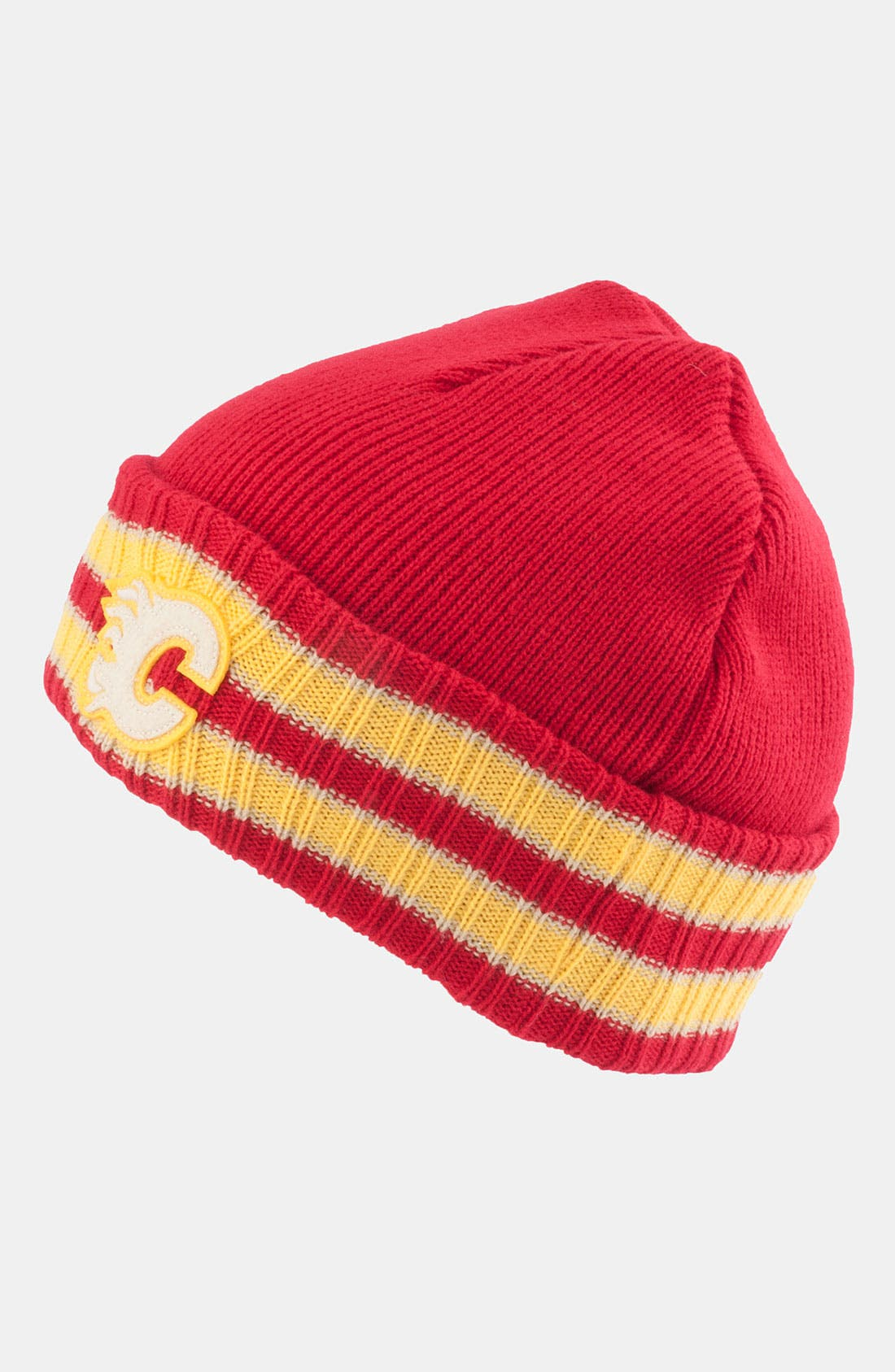 Alternate Image 1 Selected - American Needle 'Calgary Flames - Slash' Knit Hat