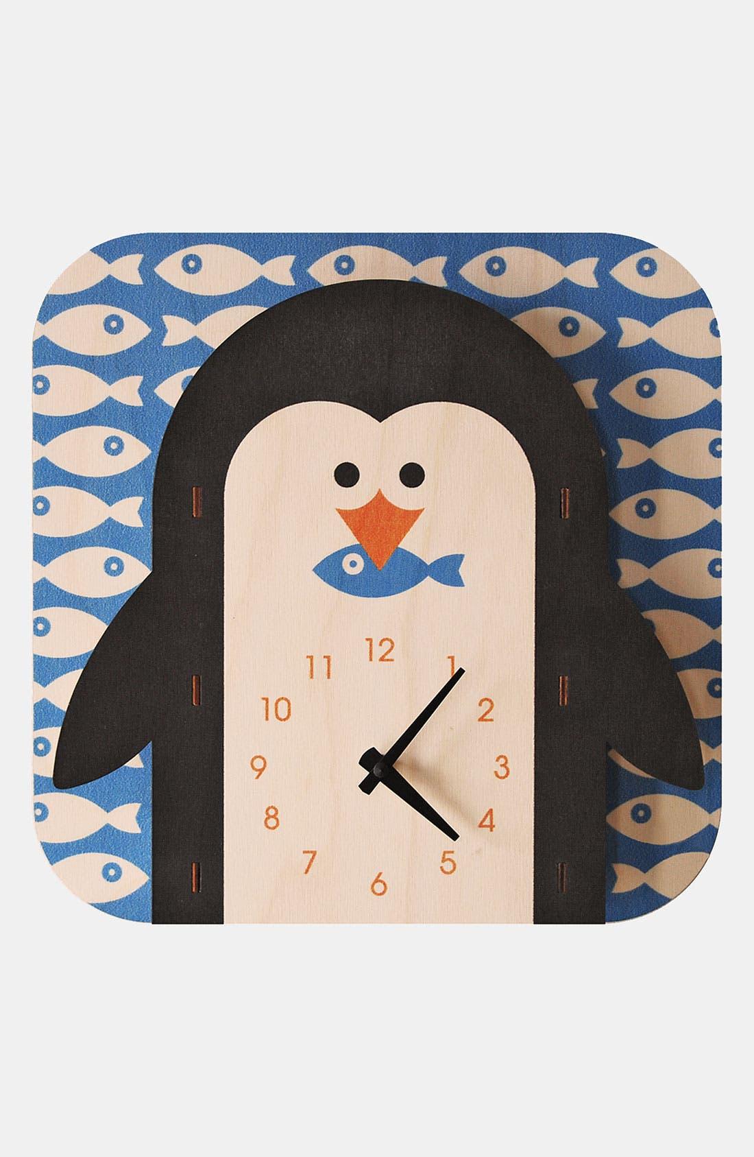 Main Image - Modern Moose 'Penguin' Clock