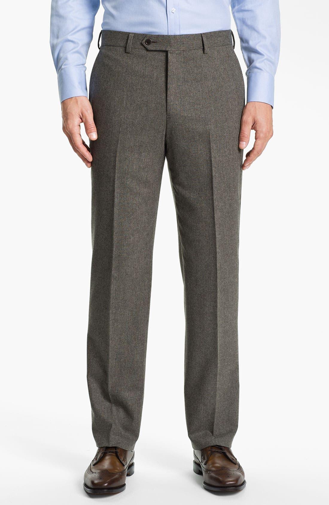 Alternate Image 4  - Brooks Brothers Tweed Wool Suit