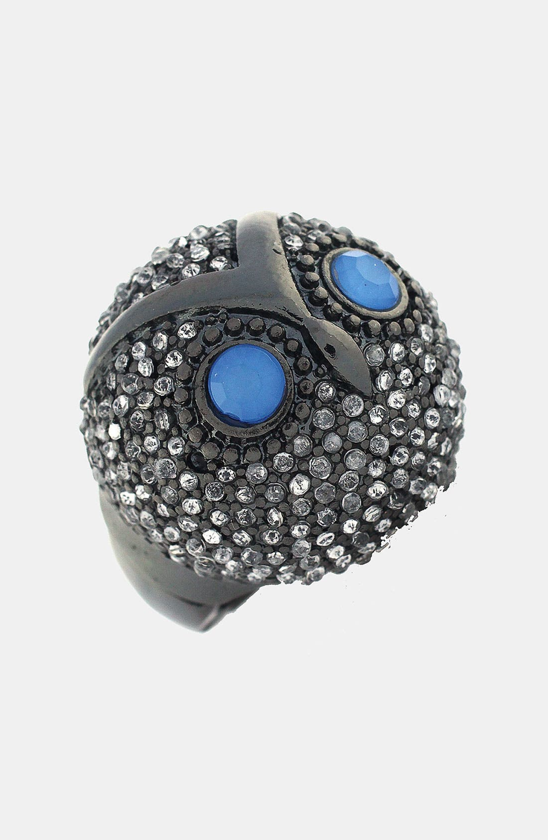 Main Image - BCBGeneration 'Animalia' Grey Owl Stretch Ring