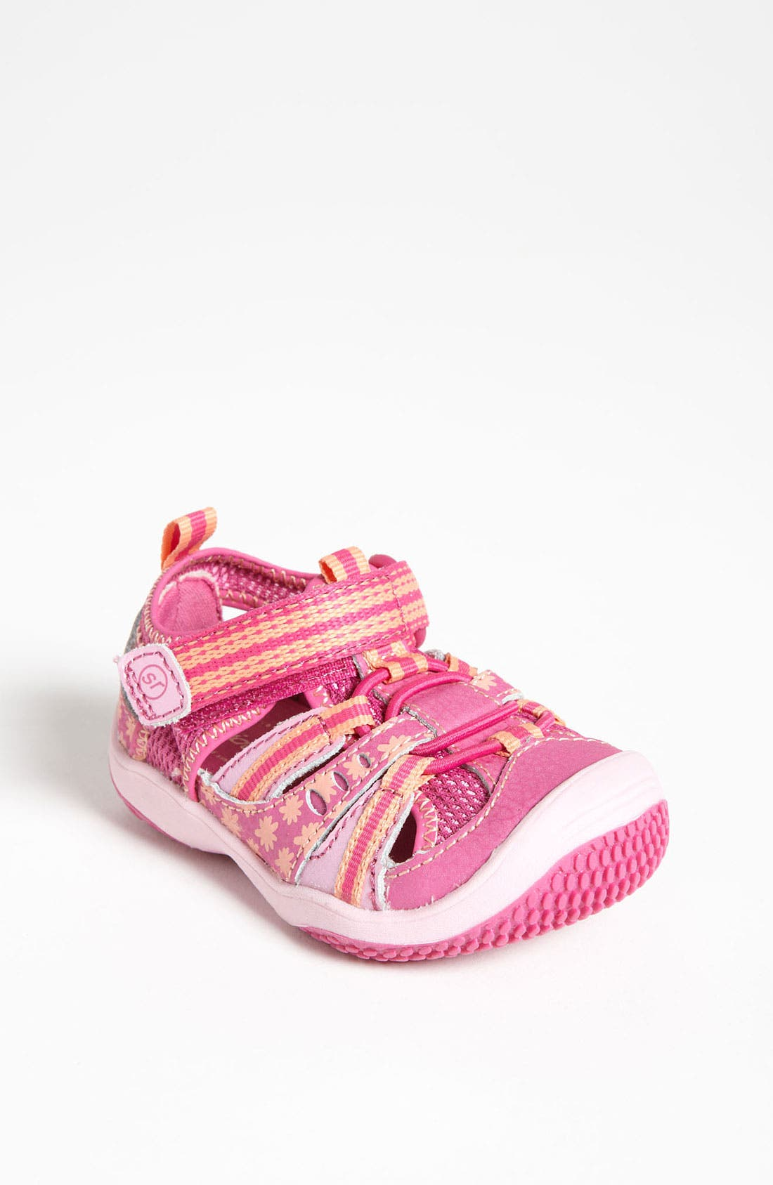Alternate Image 1 Selected - Stride Rite 'Baby Petra' Sandal (Baby, Walker & Toddler)