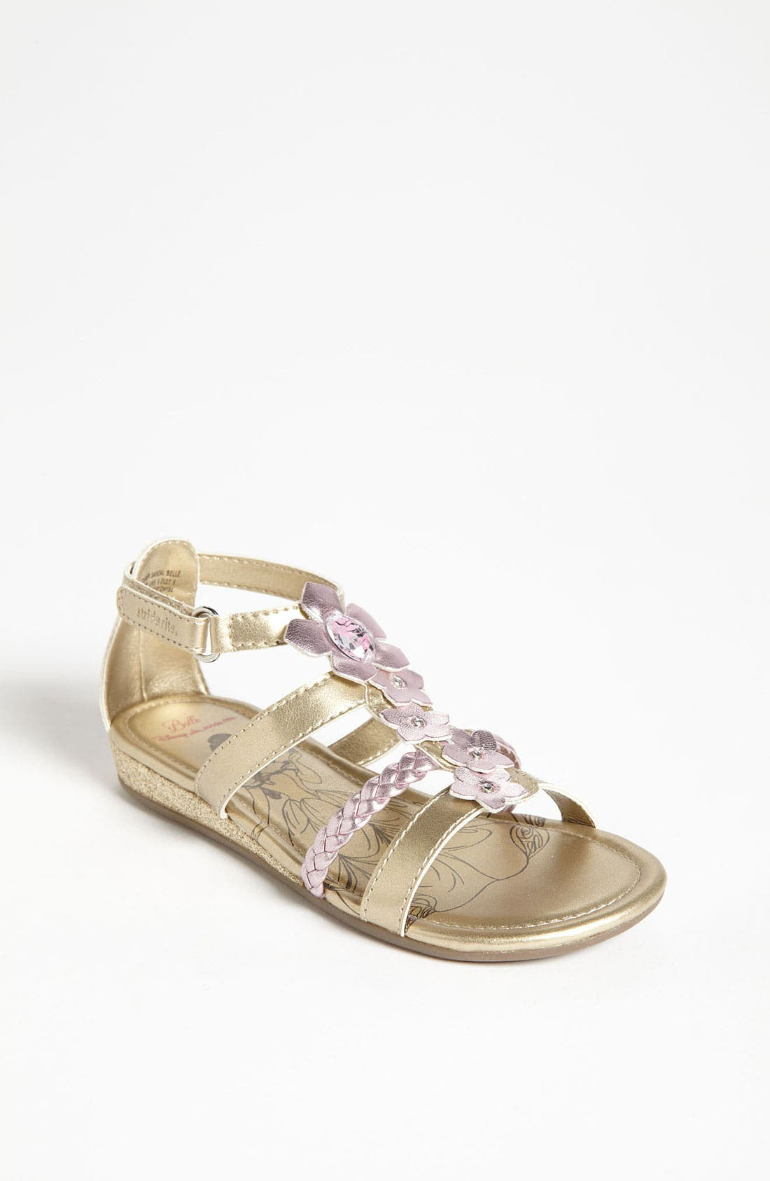 Alternate Image 1 Selected - Stride Rite 'Disney™ - Belle' Sandal (Toddler)