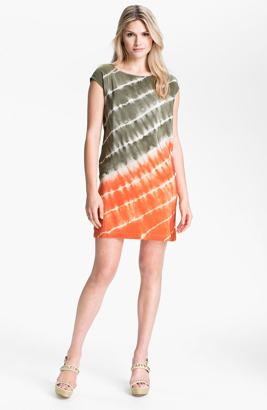 Main Image - MICHAEL Michael Kors Tie Dye Silk Dress