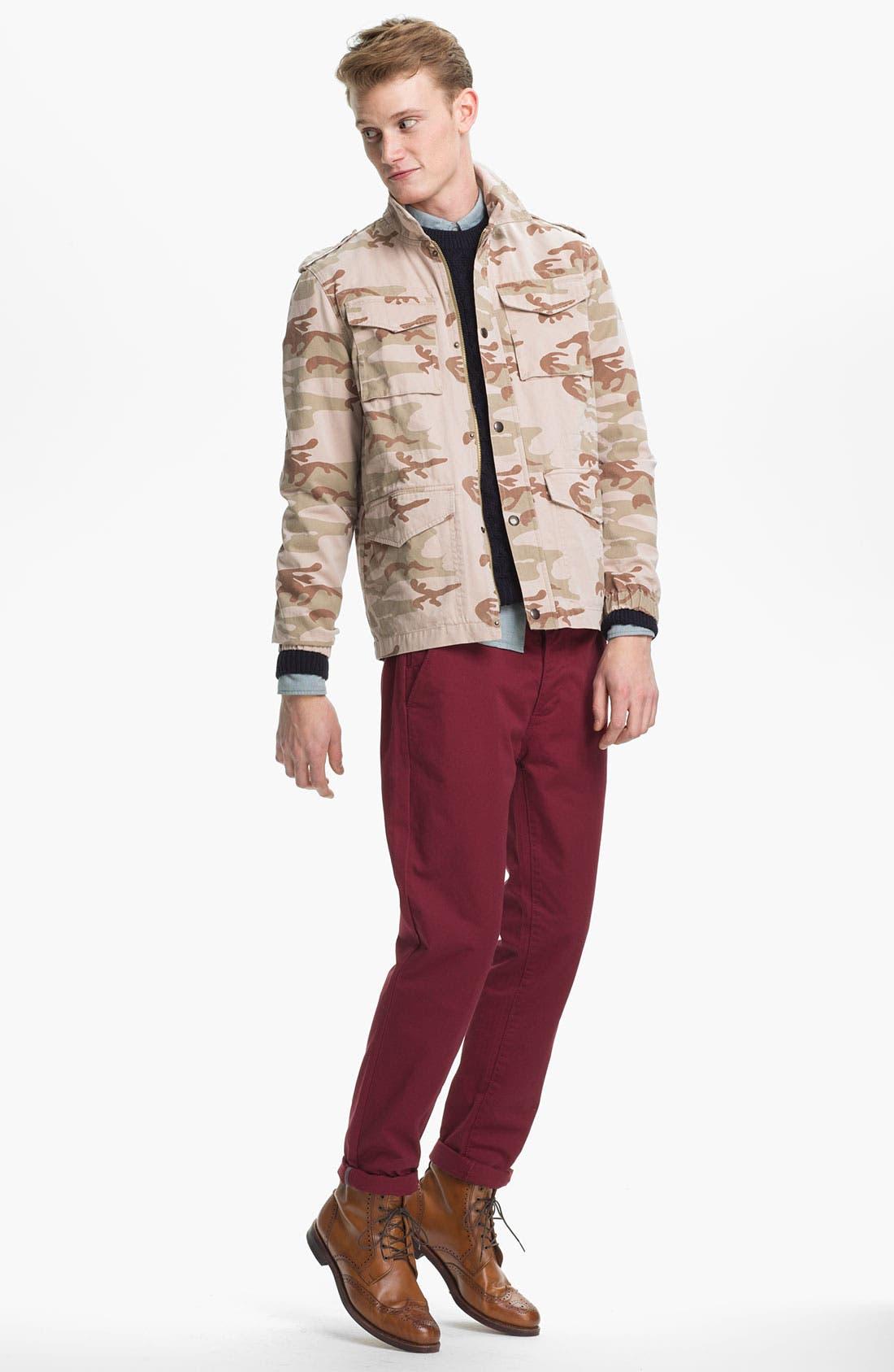 Alternate Image 4  - Topman Camo Field Jacket