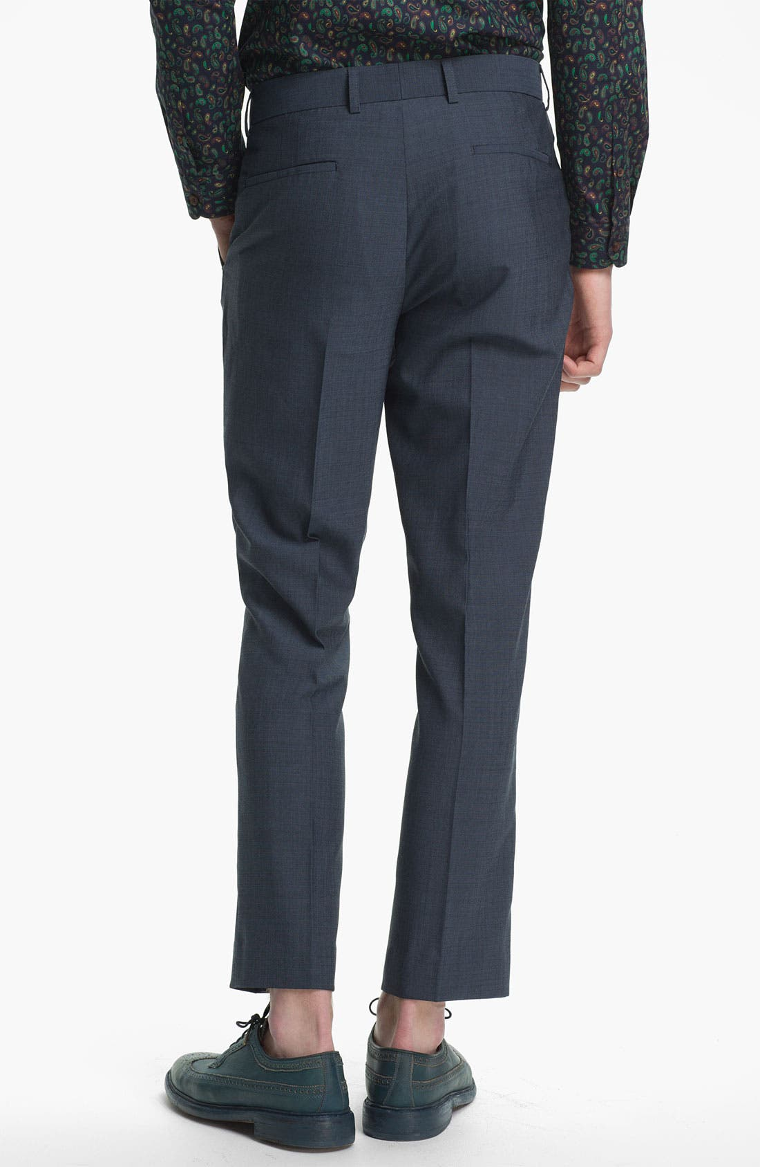 Alternate Image 2  - Topman Skinny Fit Trousers