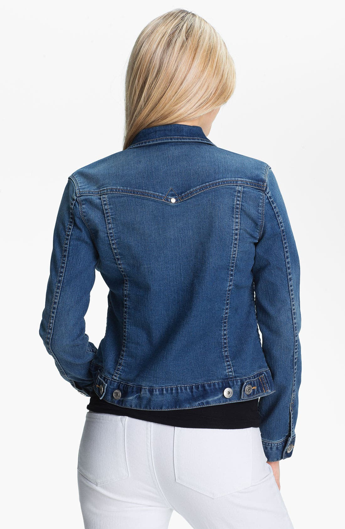 Alternate Image 2  - Liverpool Jeans Company 'Blue Jay Way' Denim Jacket