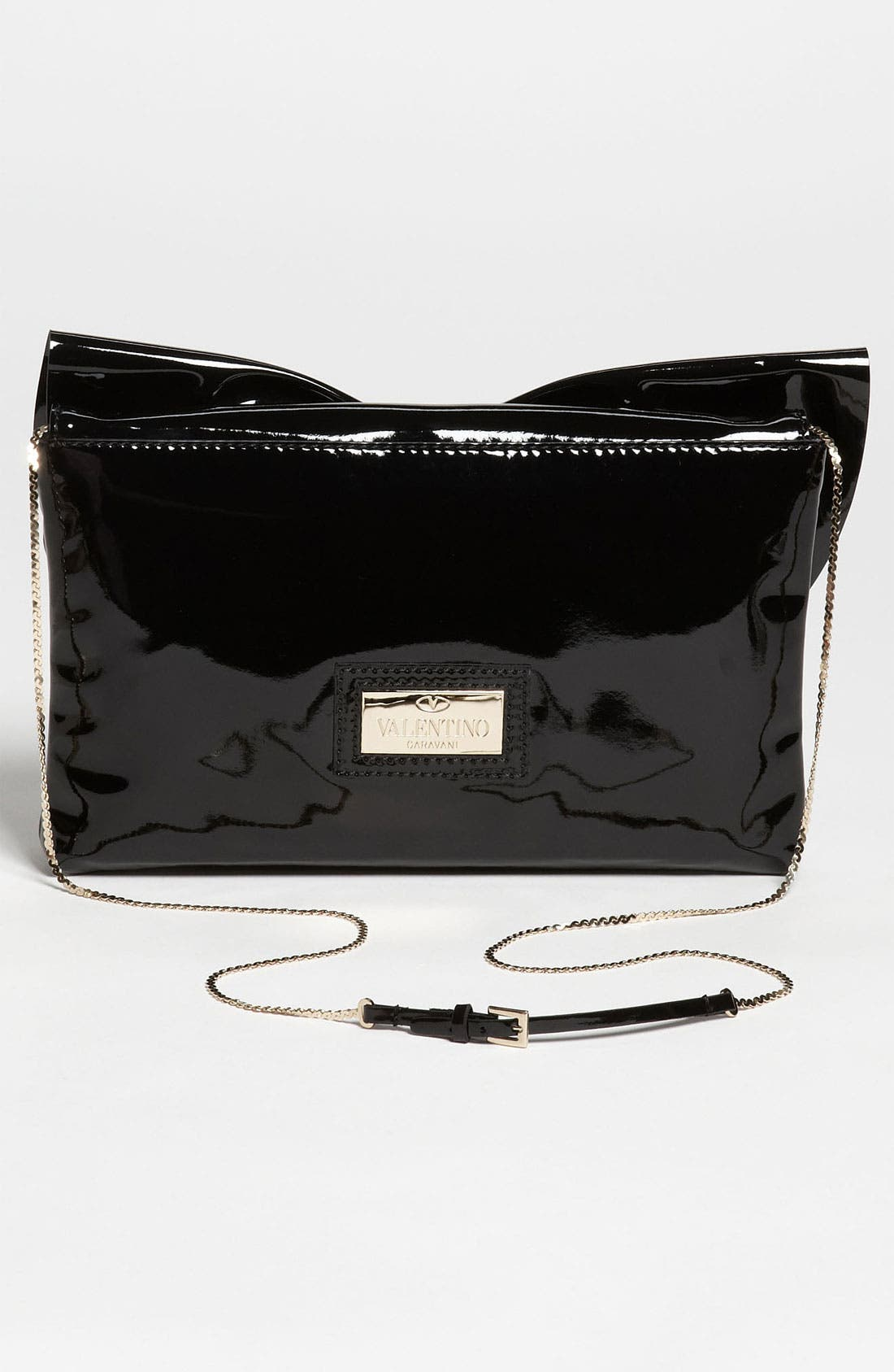 Alternate Image 4  - Valentino 'Lacca Bow' Flap Clutch