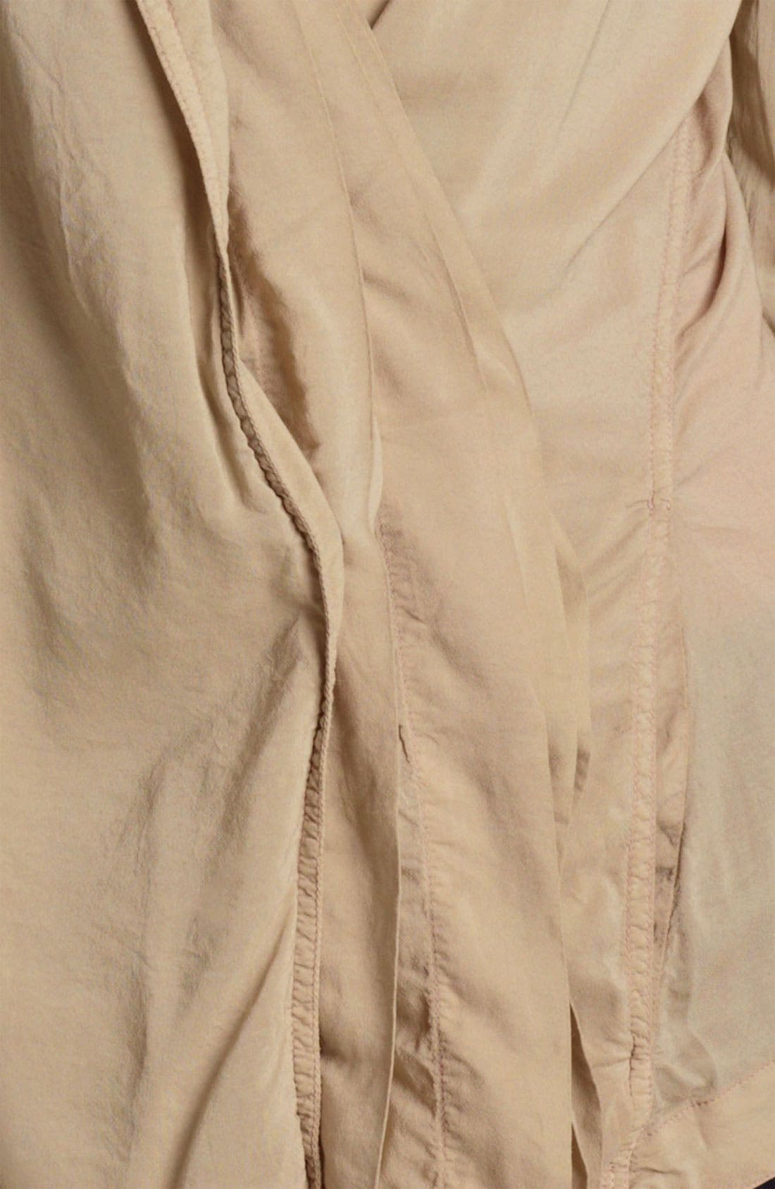 Alternate Image 3  - Donna Karan Collection Crepe Shirt