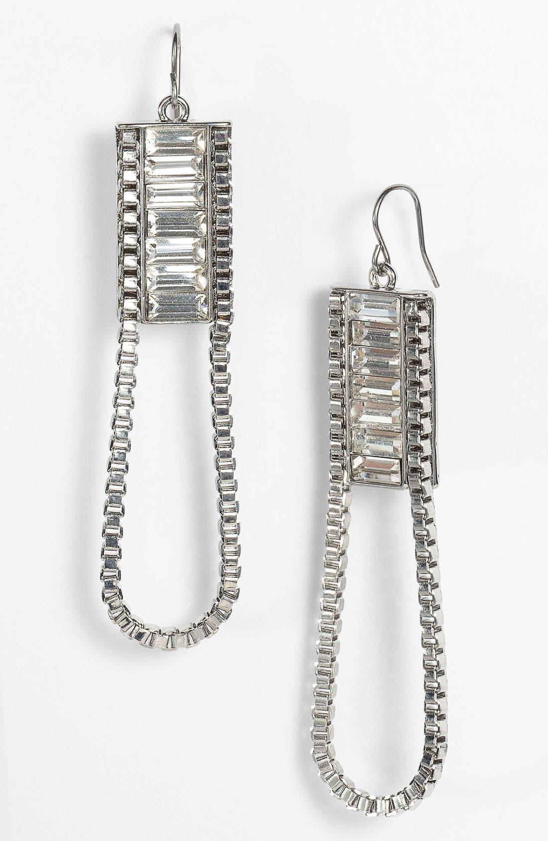Alternate Image 1 Selected - BCBGeneration 'The Standard' Zipper Earrings