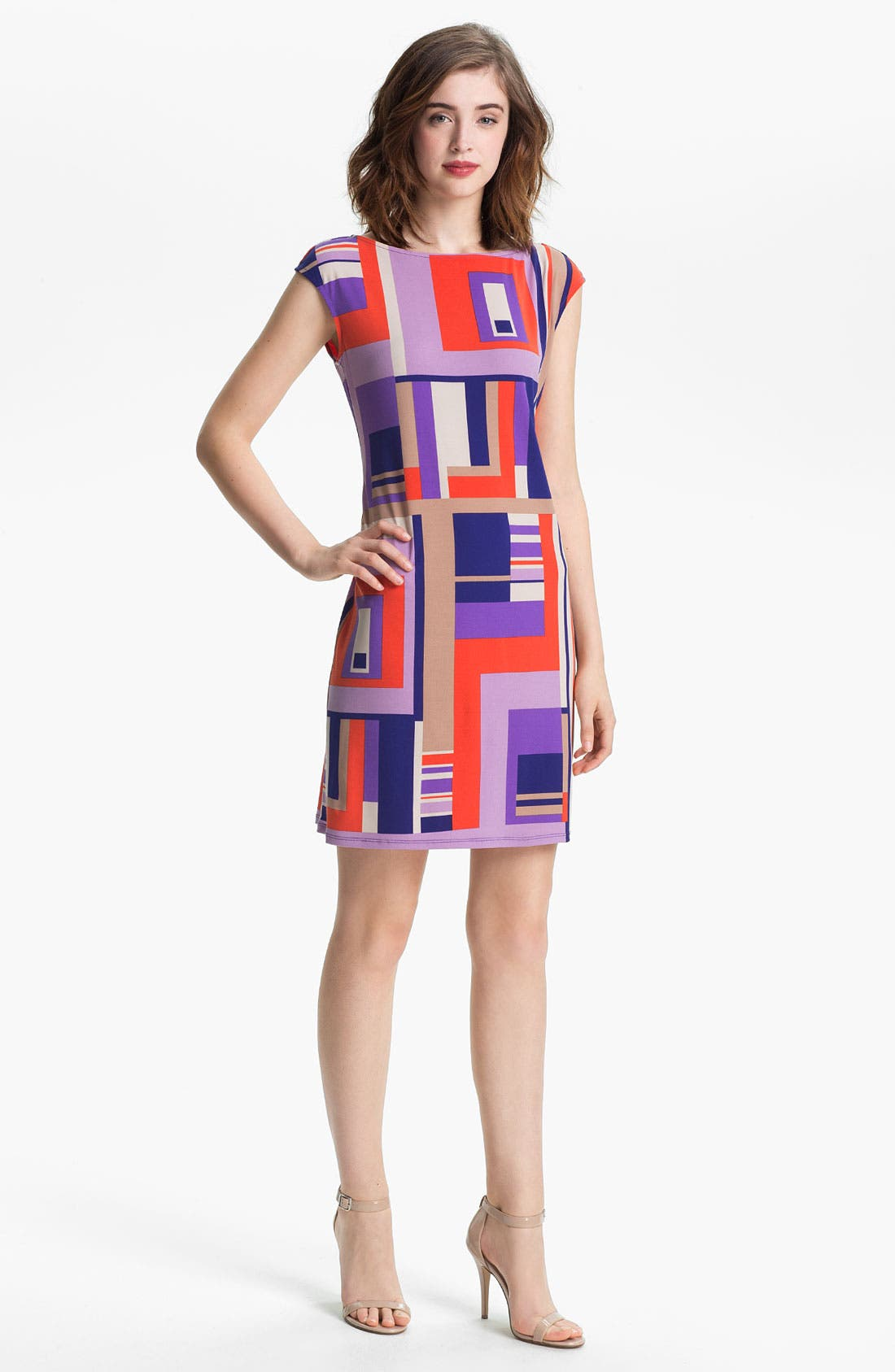 Alternate Image 1 Selected - Donna Morgan Print Sheath Dress