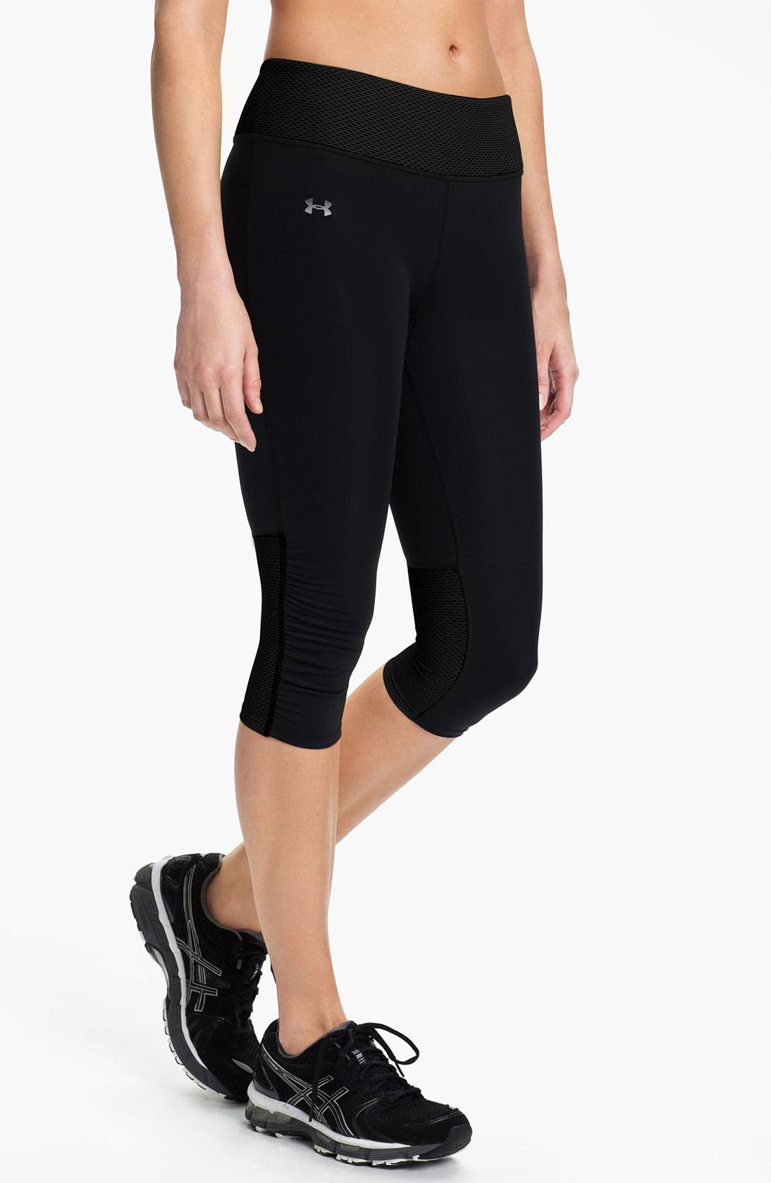 Alternate Image 1 Selected - Under Armour 'Fly By' Compression Capris
