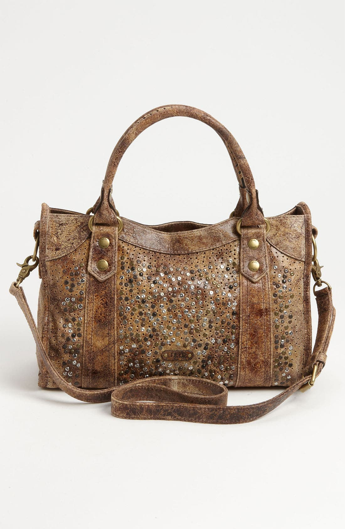 Alternate Image 4  - Frye 'Deborah' Studded Satchel