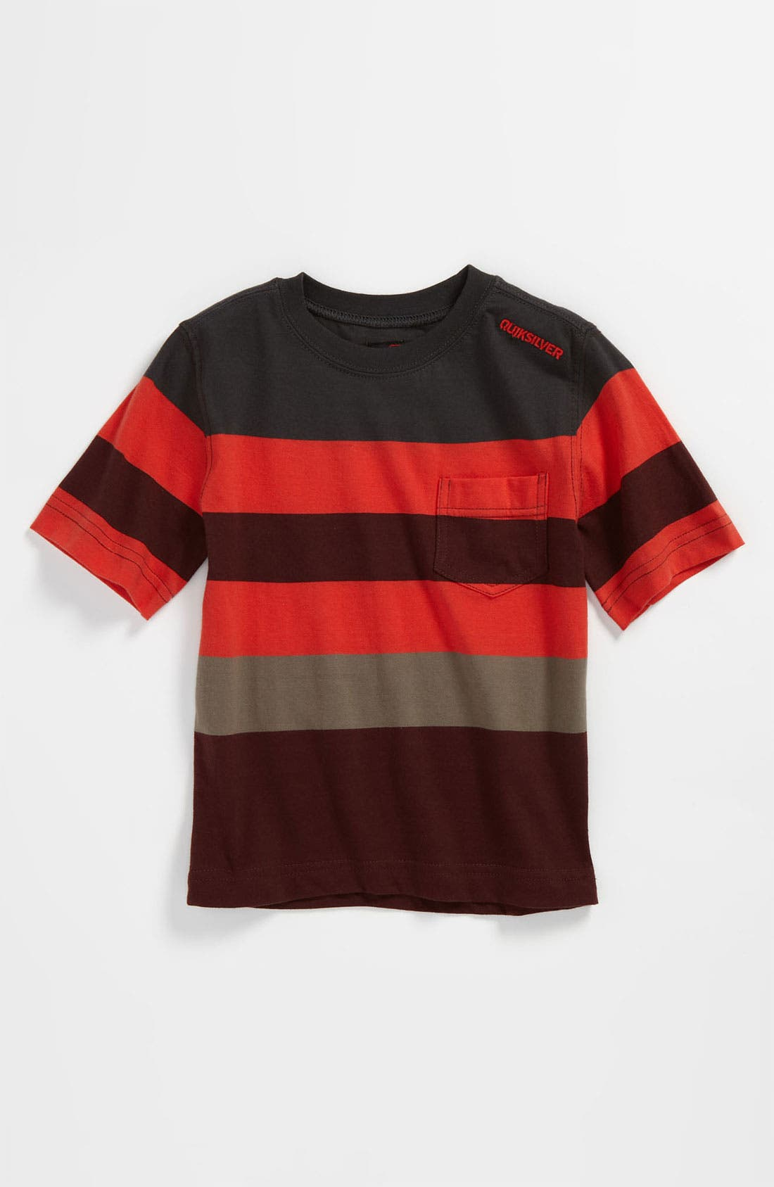 Alternate Image 1 Selected - Quiksilver 'Mobley' Stripe T-Shirt (Infant)
