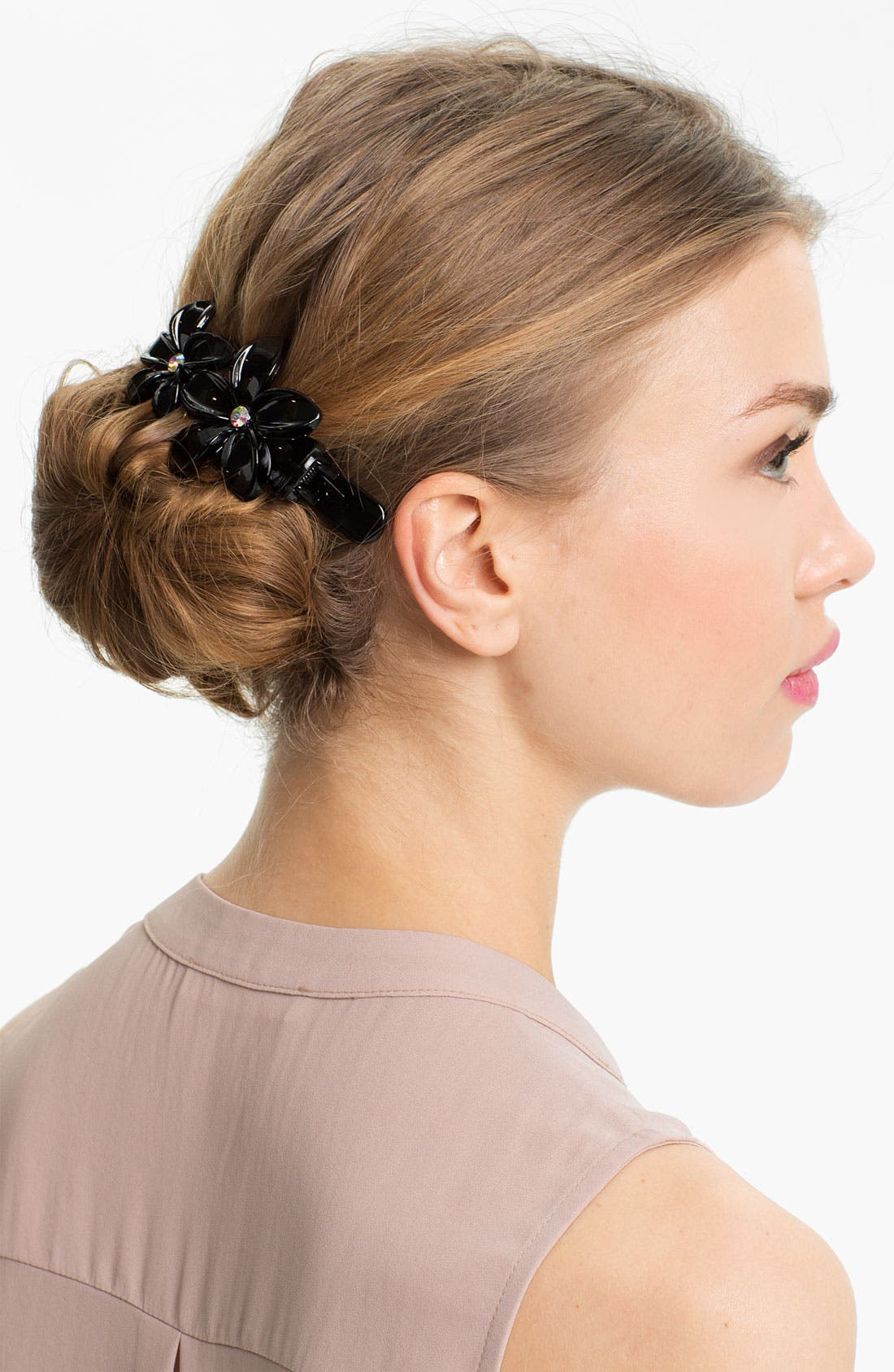Alternate Image 1 Selected - Cara Flower Hair Clip