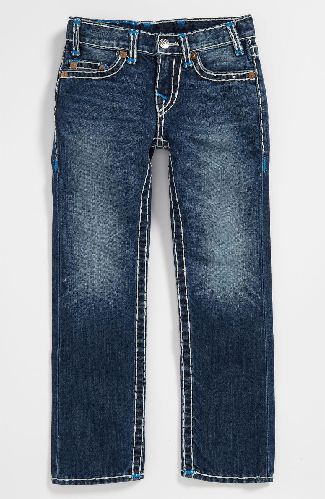 Alternate Image 2  - True Religion Brand Jeans 'Logan Super T' Skinny Leg Jeans (Big Boys)