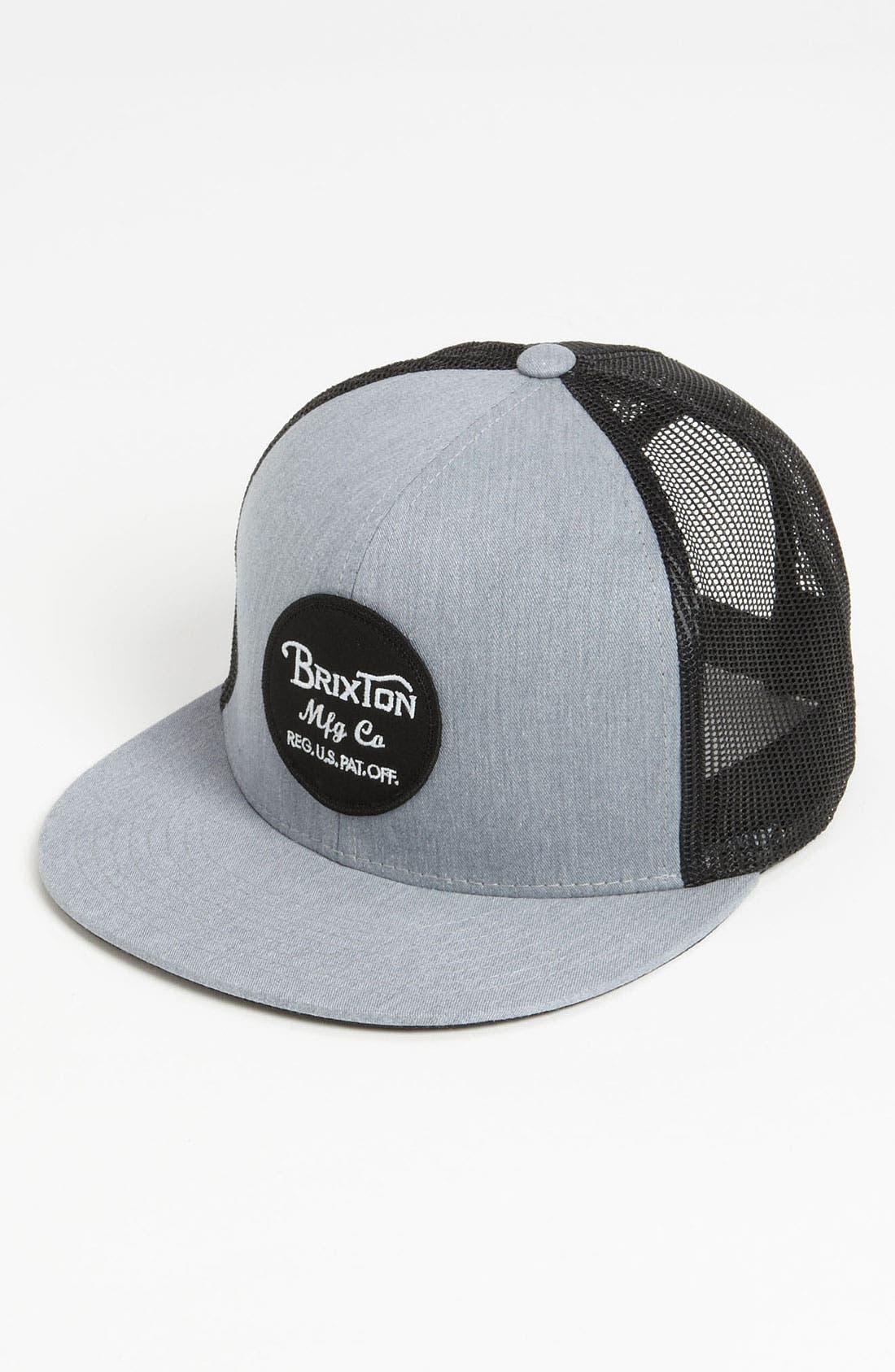 Main Image - Brixton 'Wheeler' Trucker Hat