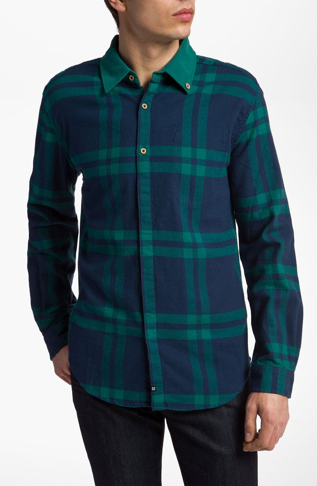 Alternate Image 1 Selected - Insight 'Big Take Over' Woven Shirt