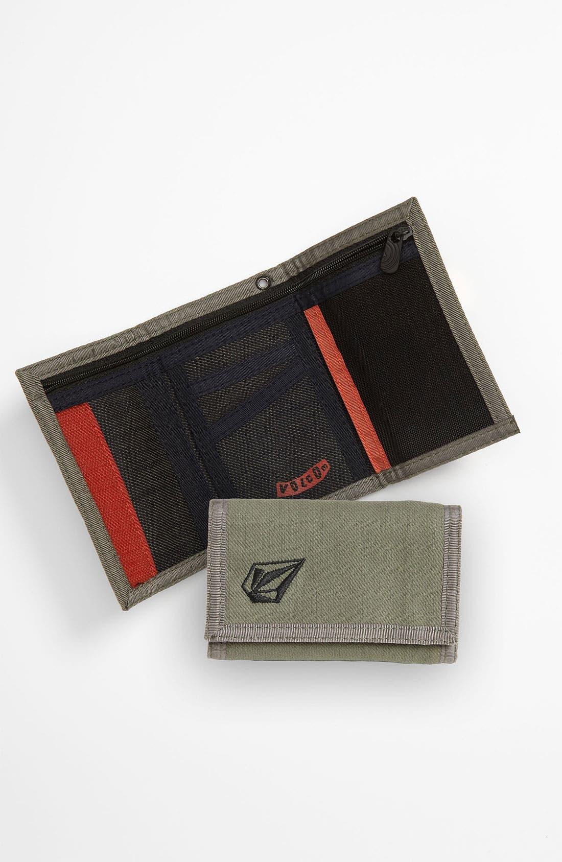 Alternate Image 1 Selected - Volcom 'Full Stone 3F' Wallet (Boys)