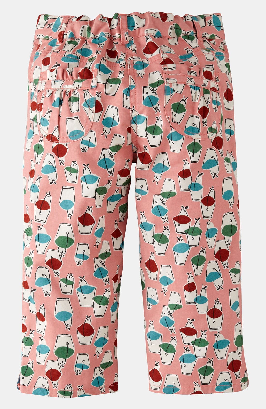 Alternate Image 2  - Mini Boden Print Capri Pants (Little Girls & Big Girls)