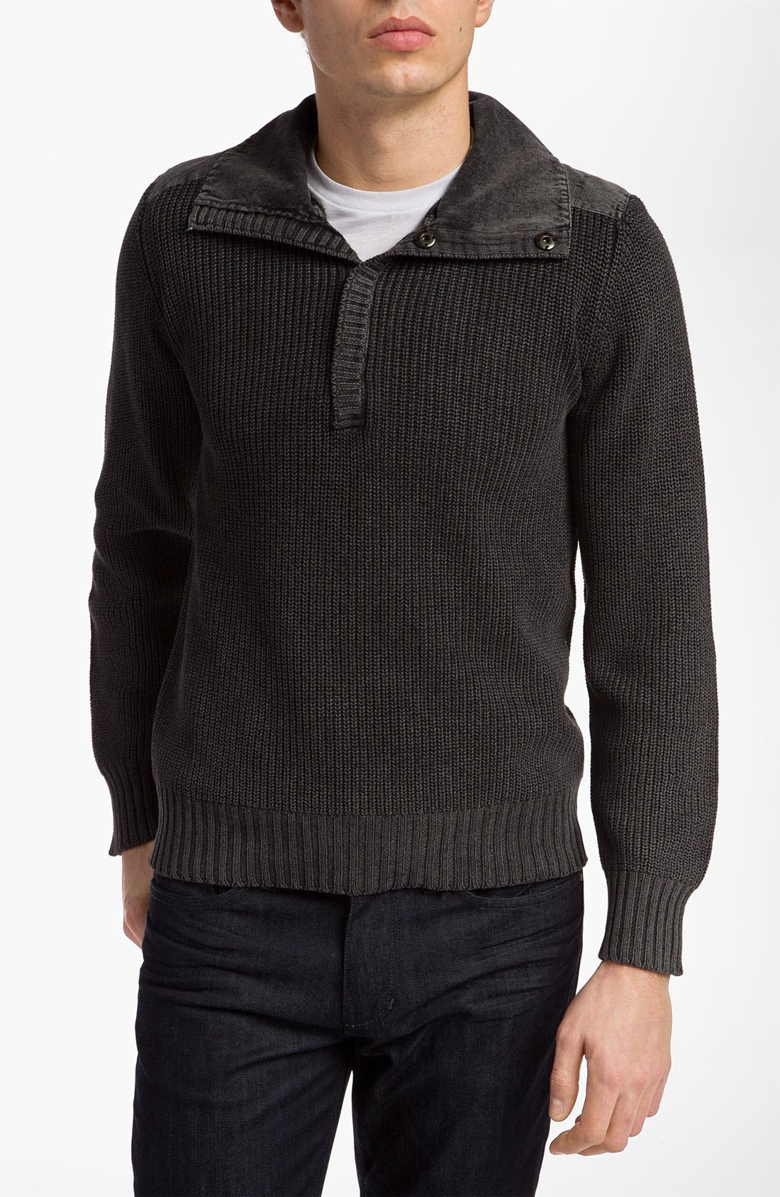 Alternate Image 1 Selected - Urban Camo Brigade Henley Sweater
