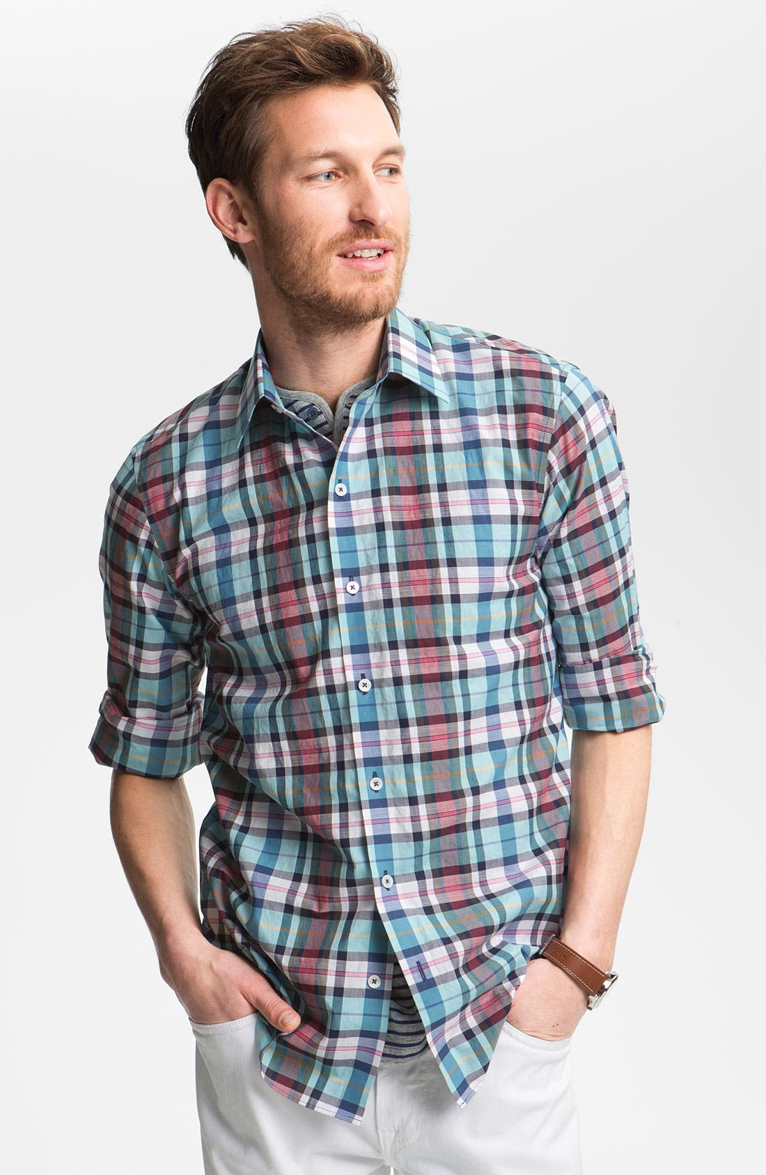 Alternate Image 1 Selected - Zachary Prell 'Annino' Sport Shirt