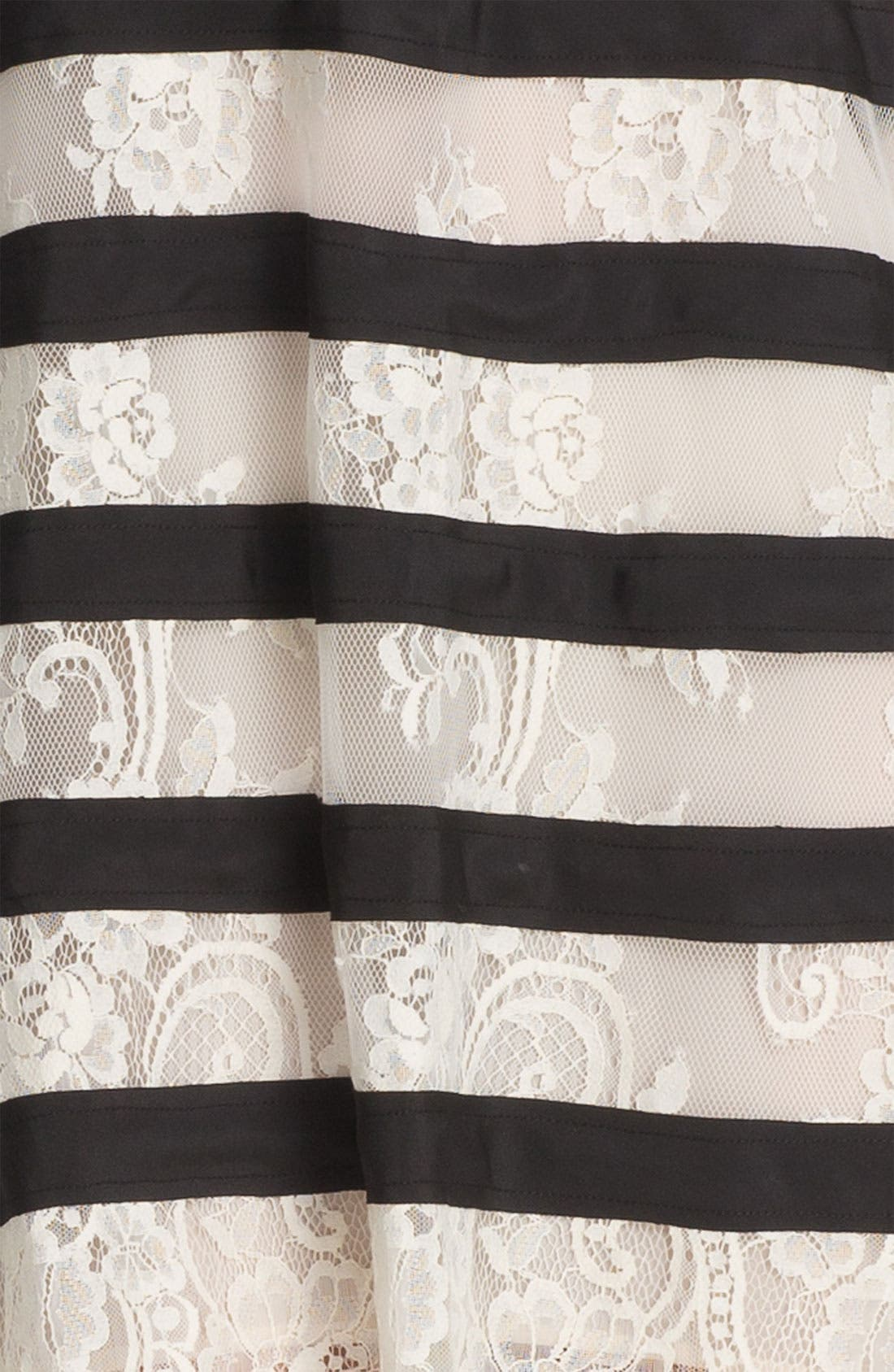 Alternate Image 3  - BCBGMAXAZRIA 'Augustin' Knit Trapeze Dress