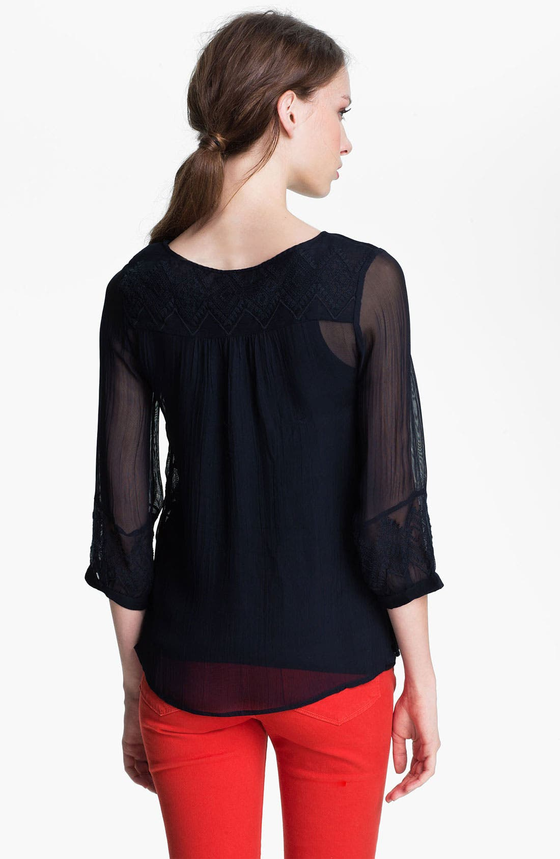 Alternate Image 2  - Lucky Brand 'Empress' Blouse