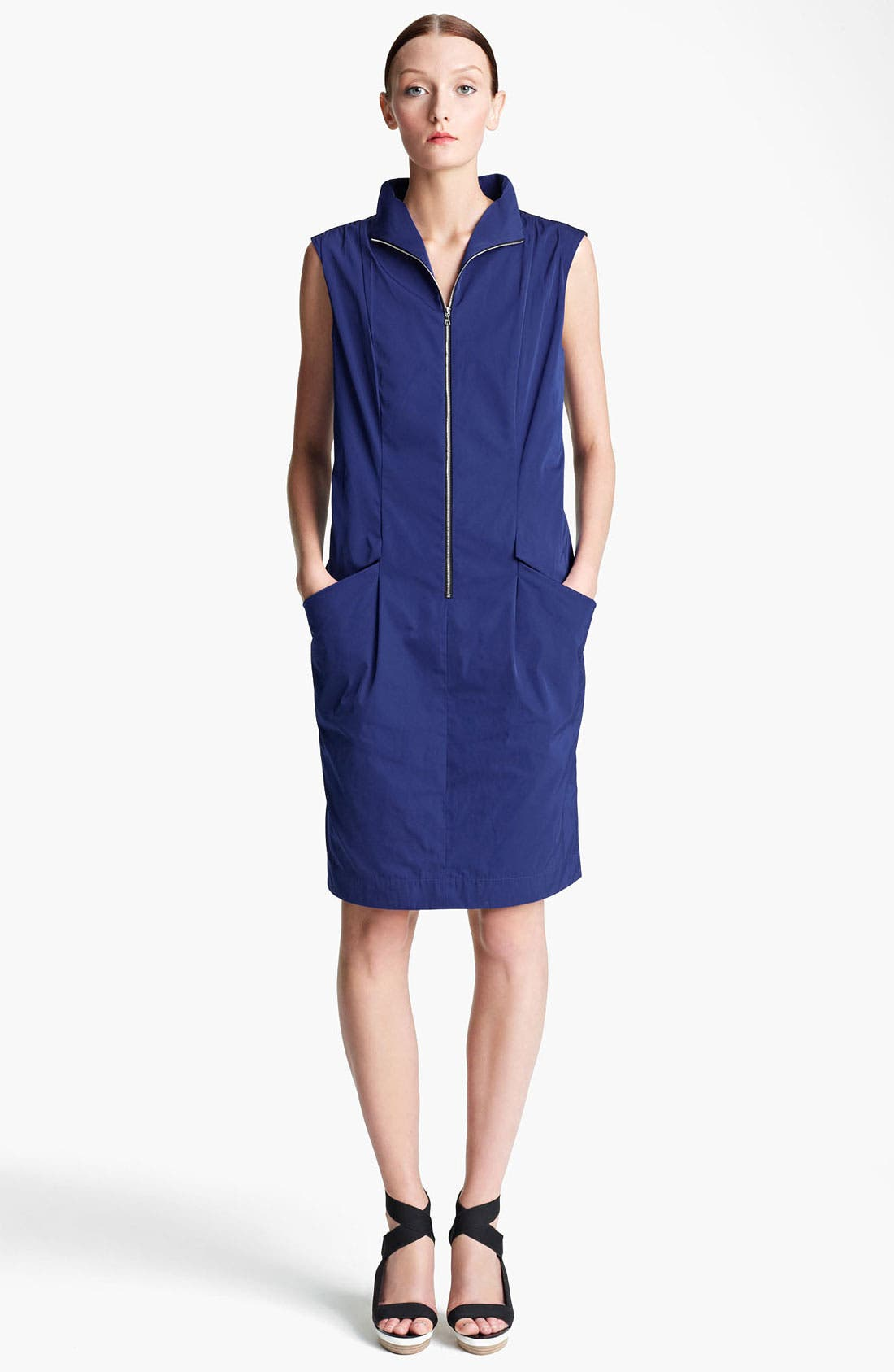 Main Image - Lida Baday Zip Front Radzimir Dress