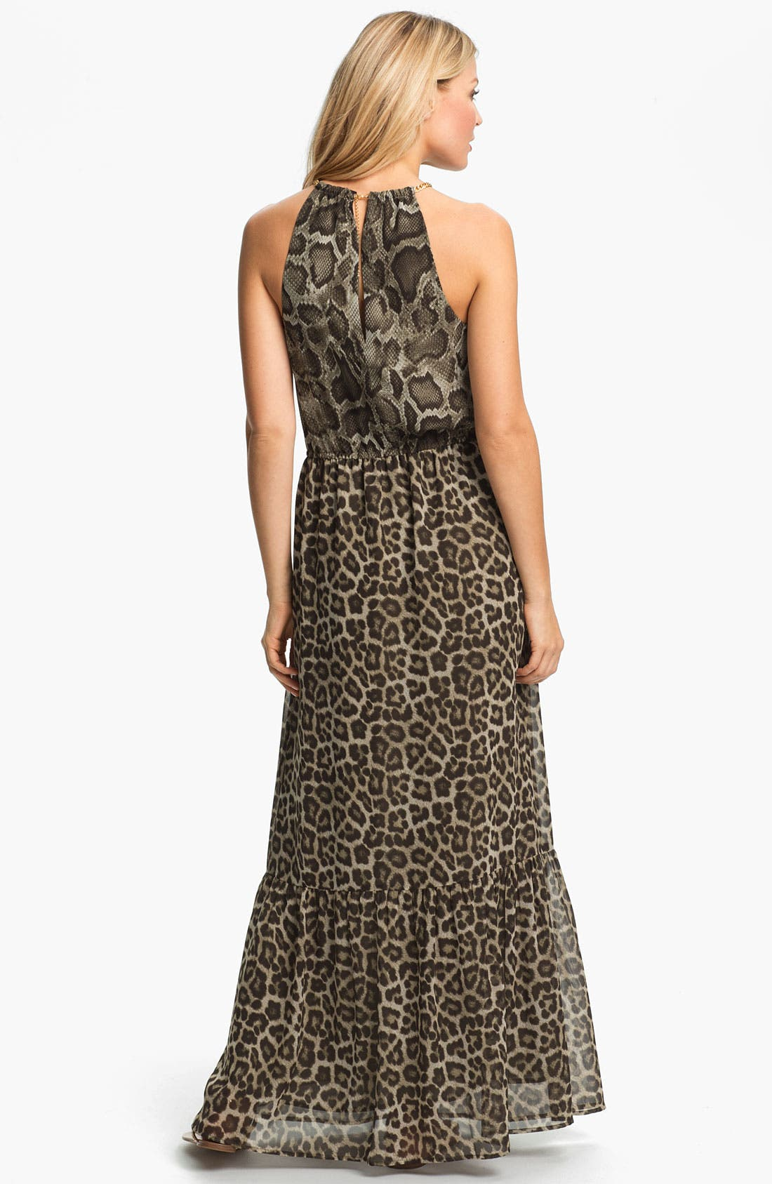 Alternate Image 2  - MICHAEL Michael Kors 'Mamba' Print Maxi Dress
