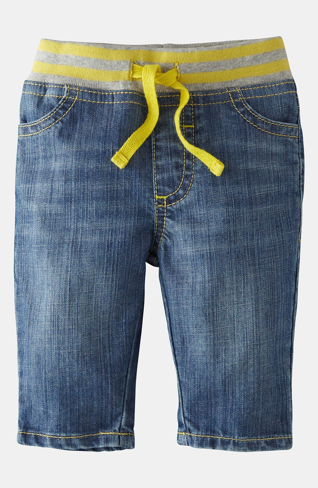 Alternate Image 1 Selected - Mini Boden 'Baby' Jeans (Baby)