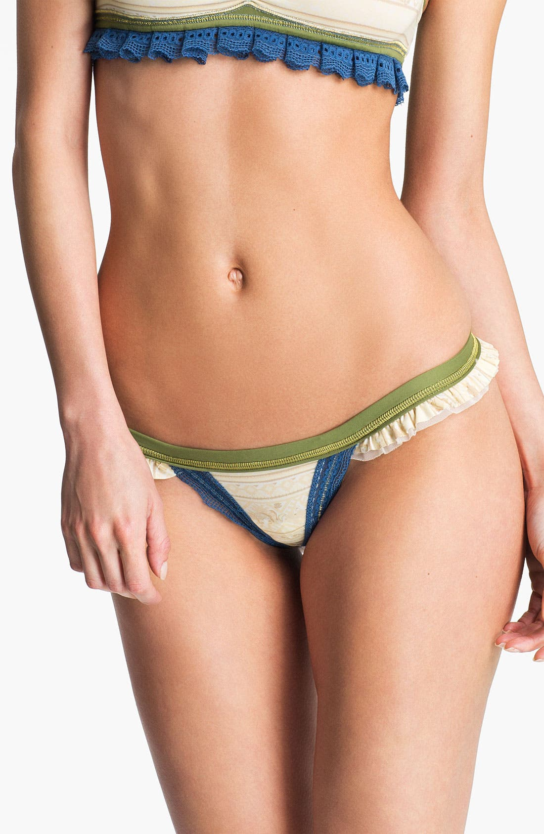 Alternate Image 1 Selected - Maaji 'It Will Bring Joy to Your Life' Thong