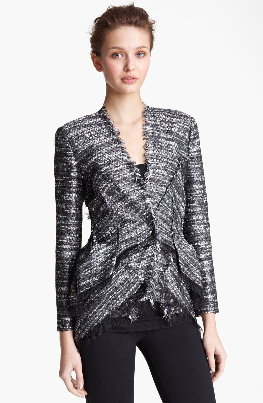 Main Image - Donna Karan Collection Tweed Jacket