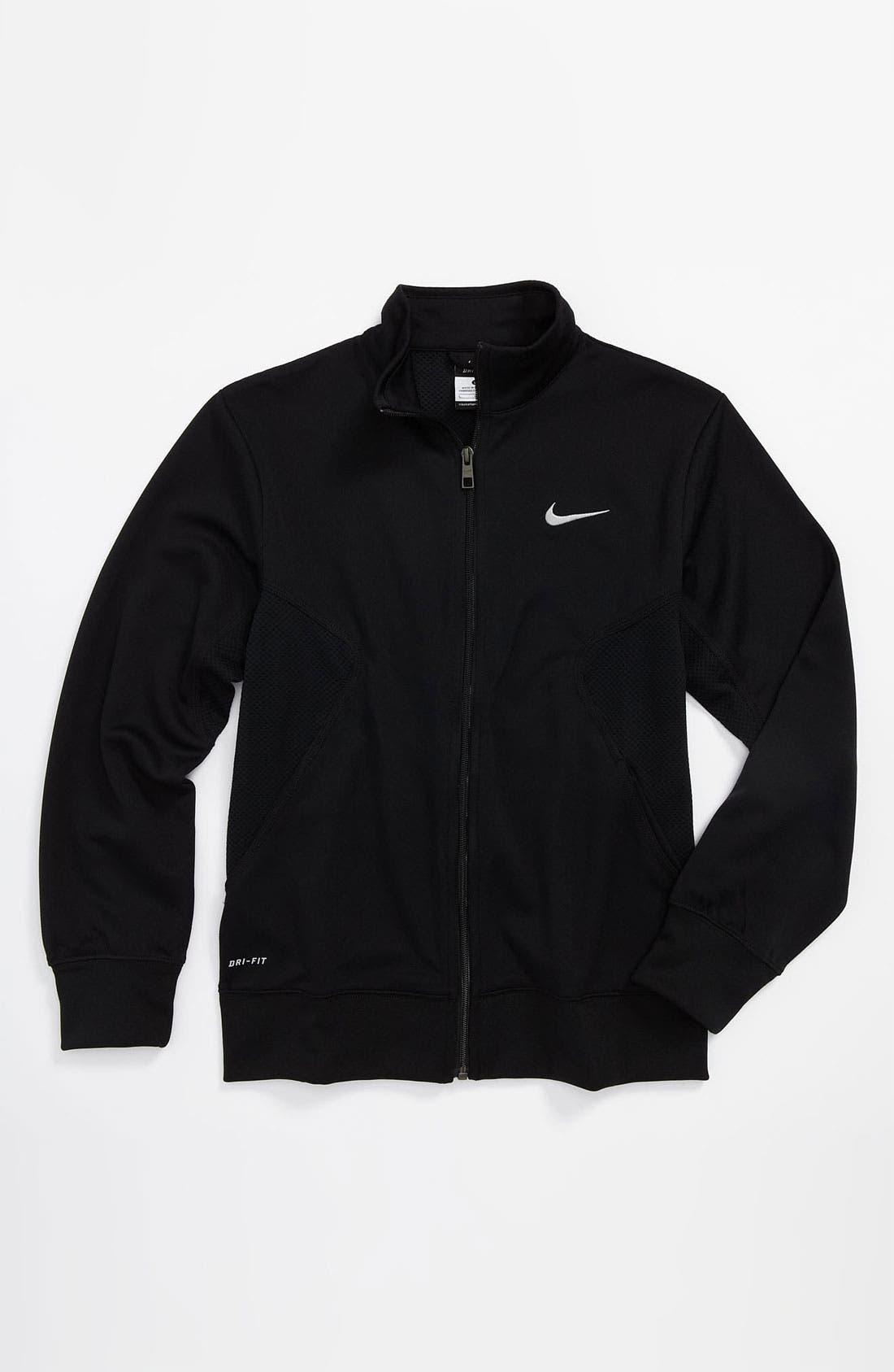 Alternate Image 1 Selected - Nike Dri-FIT Jacket (Big Boys)