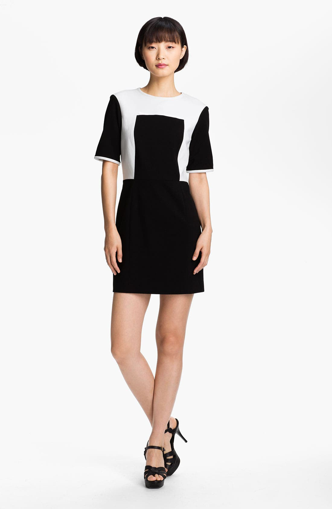 Alternate Image 1 Selected - Tibi Colorblock Shift Dress
