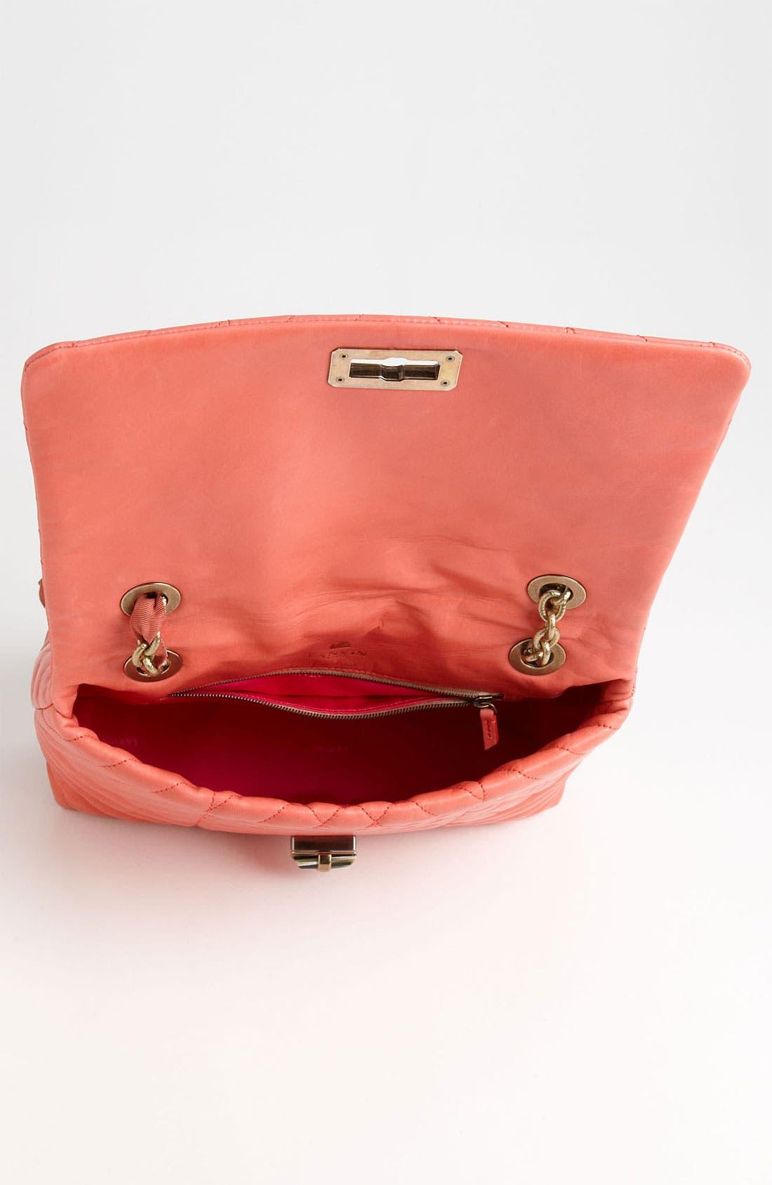 Alternate Image 3  - Lanvin 'Happy' Quilted Leather Shoulder Bag