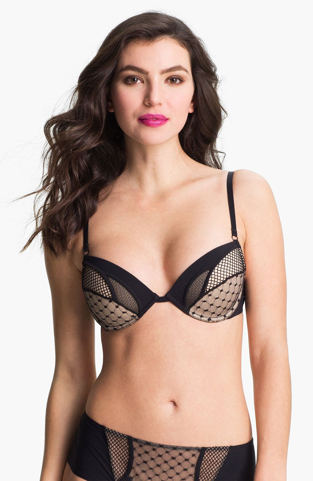 Alternate Image 1 Selected - La Perla 'Obsession of Love' Molded Underwire Push Up Bra