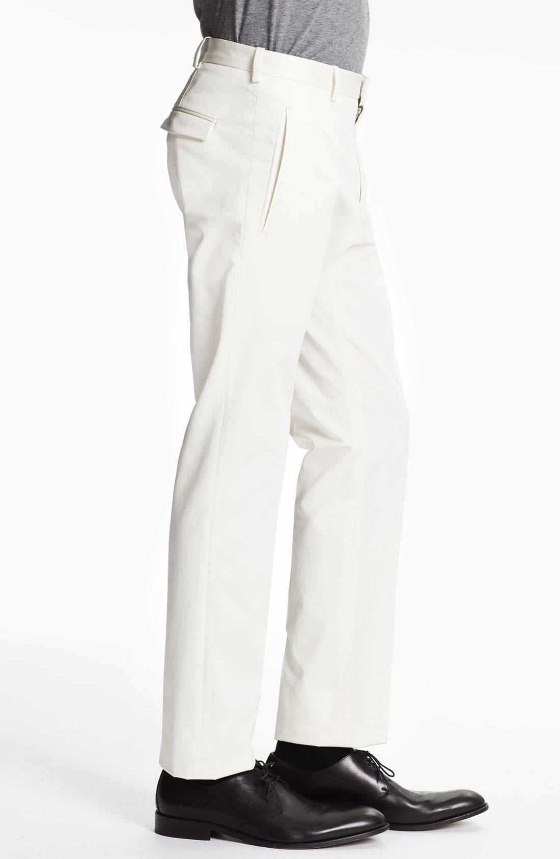 Alternate Image 3  - Jil Sander Stretch Cotton Twill Pants