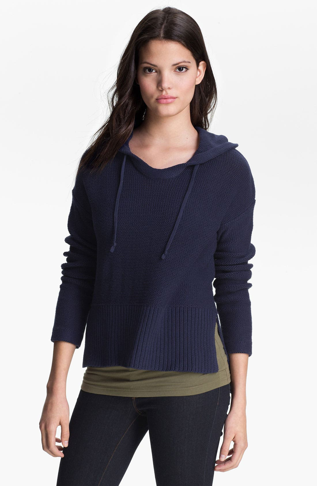 Alternate Image 1 Selected - Two by Vince Camuto Hoodie Sweater