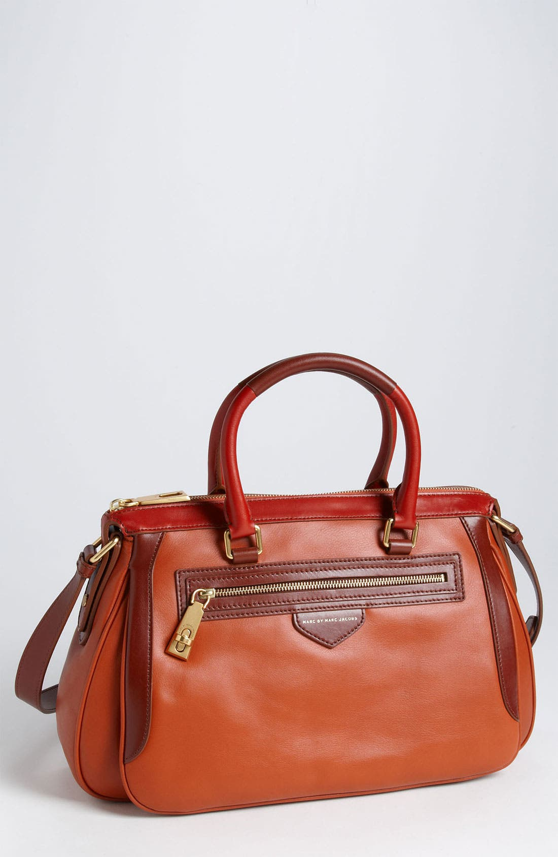 Main Image - MARC BY MARC JACOBS 'The Ziplocker - Lo' Leather Satchel