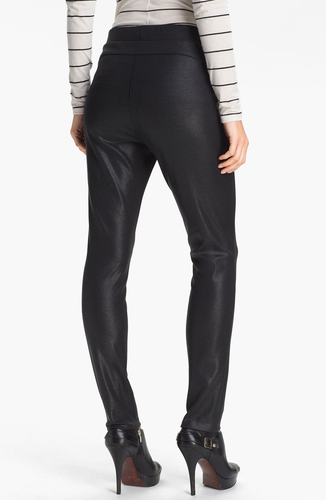 Alternate Image 2  - Two by Vince Camuto Textured Leggings