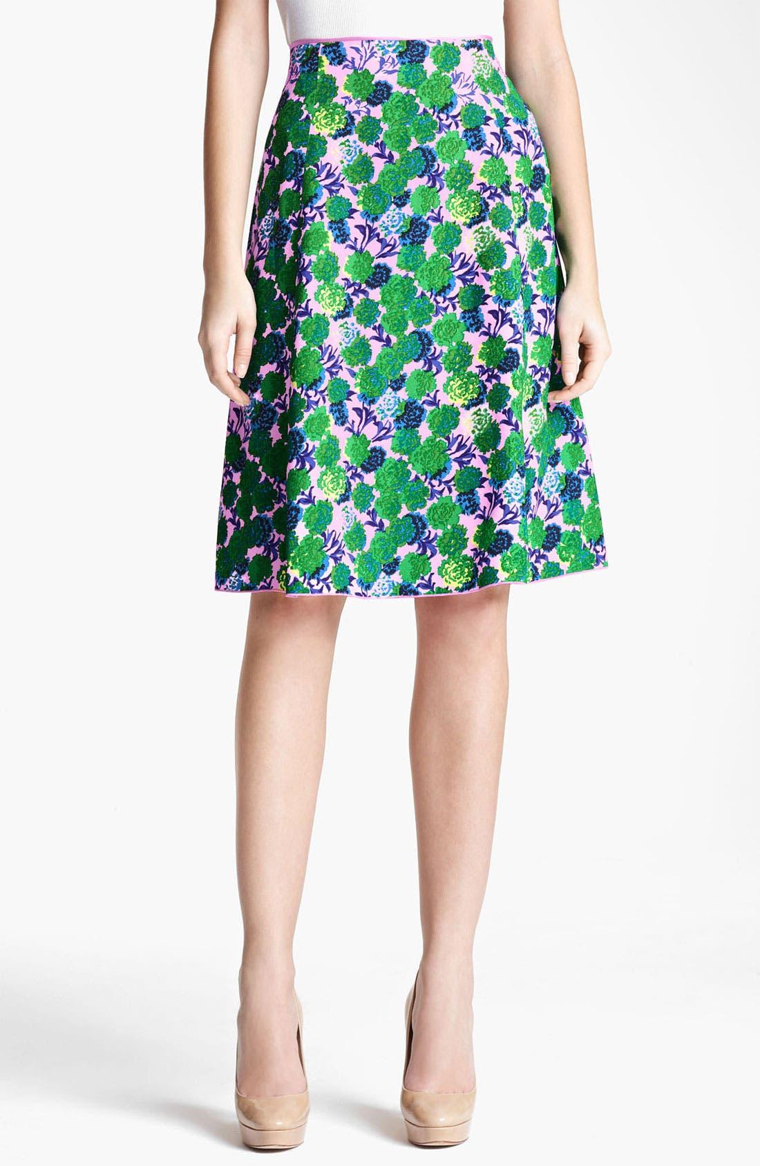 Alternate Image 1 Selected - MARC JACOBS Floral Skirt