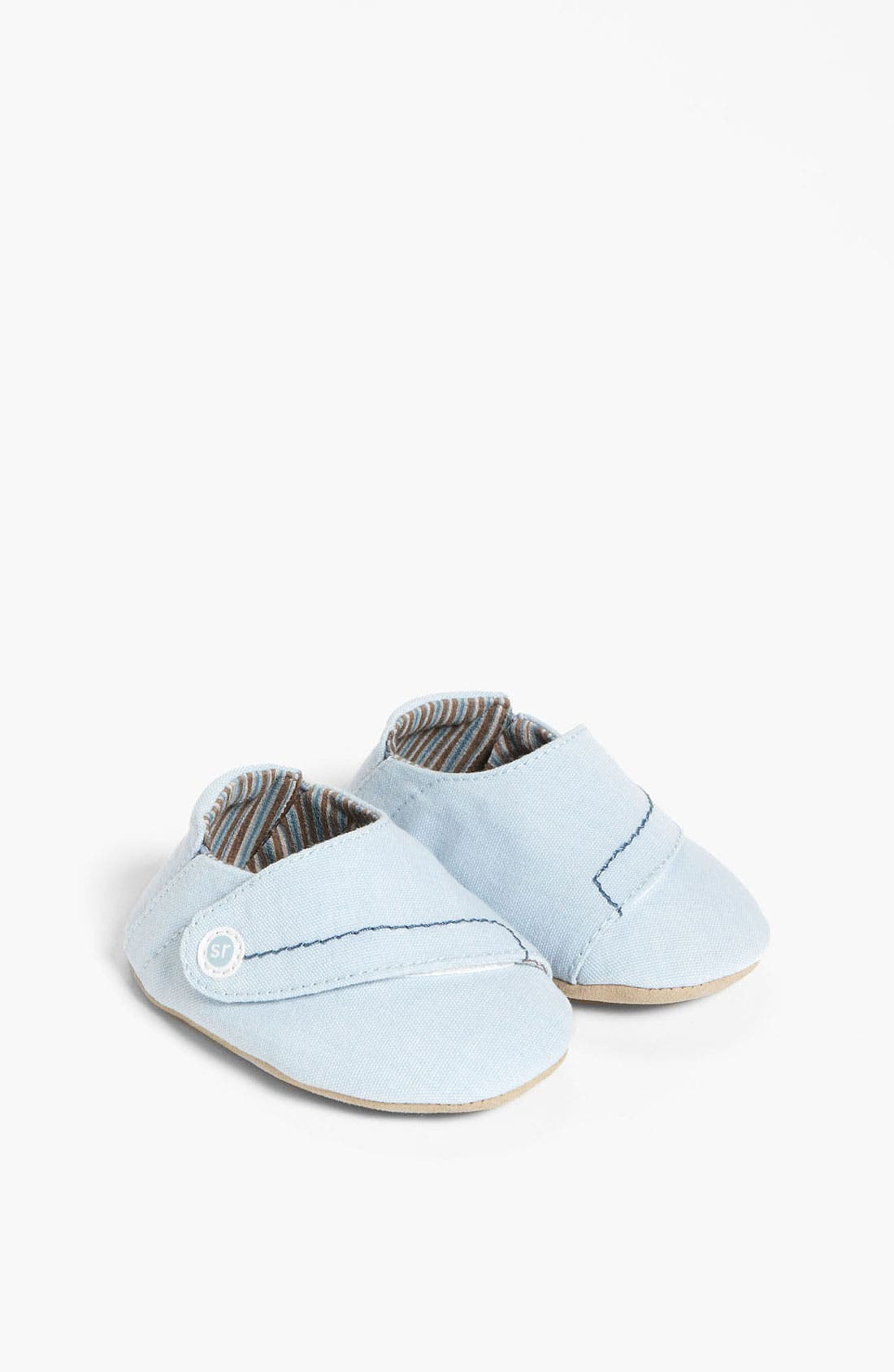 Alternate Image 1 Selected - Stride Rite 'Blue Dream' Crib Shoe (Baby)