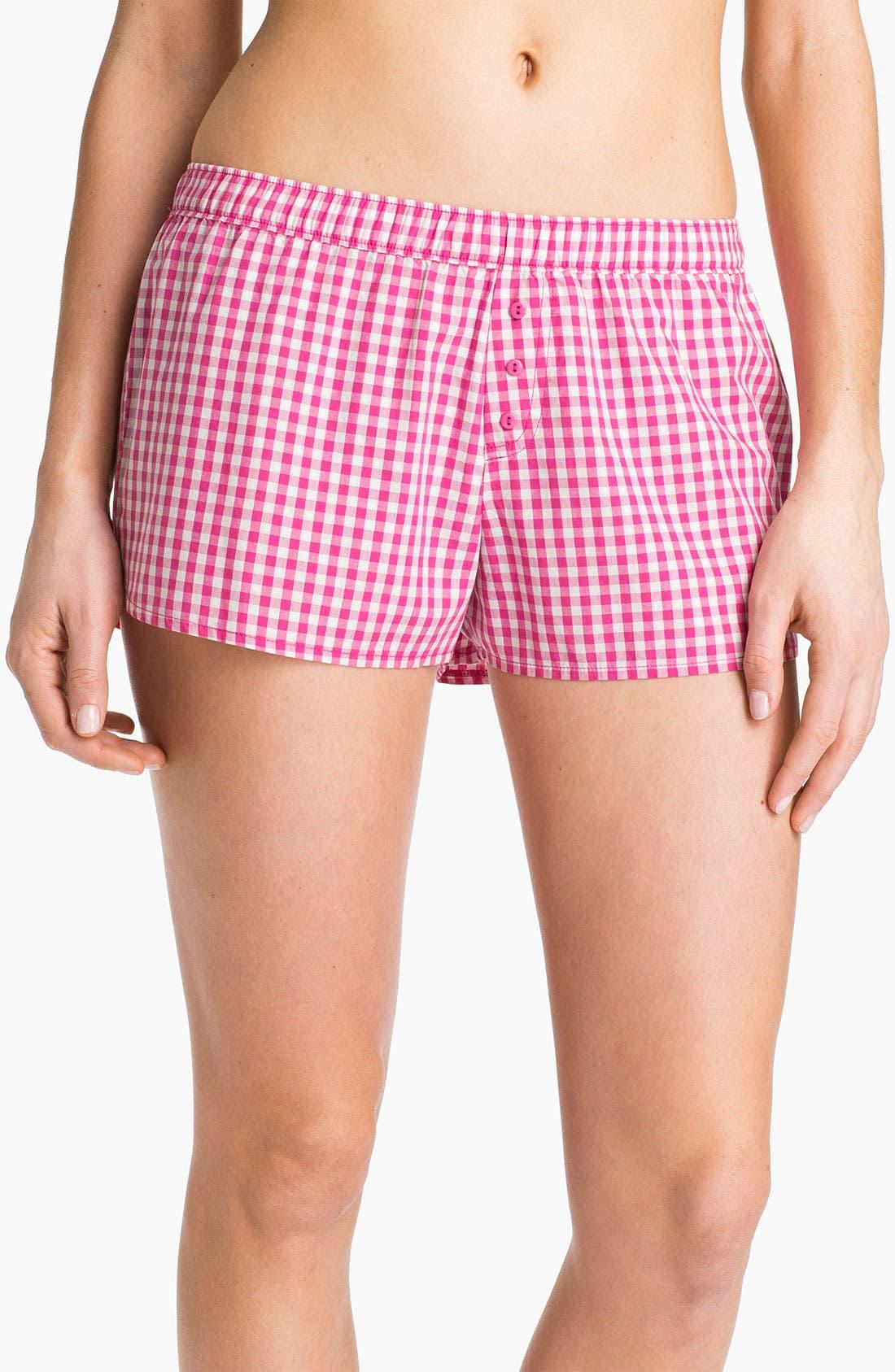 Alternate Image 1 Selected - Make + Model 'Short but Sweet' Lounge Shorts