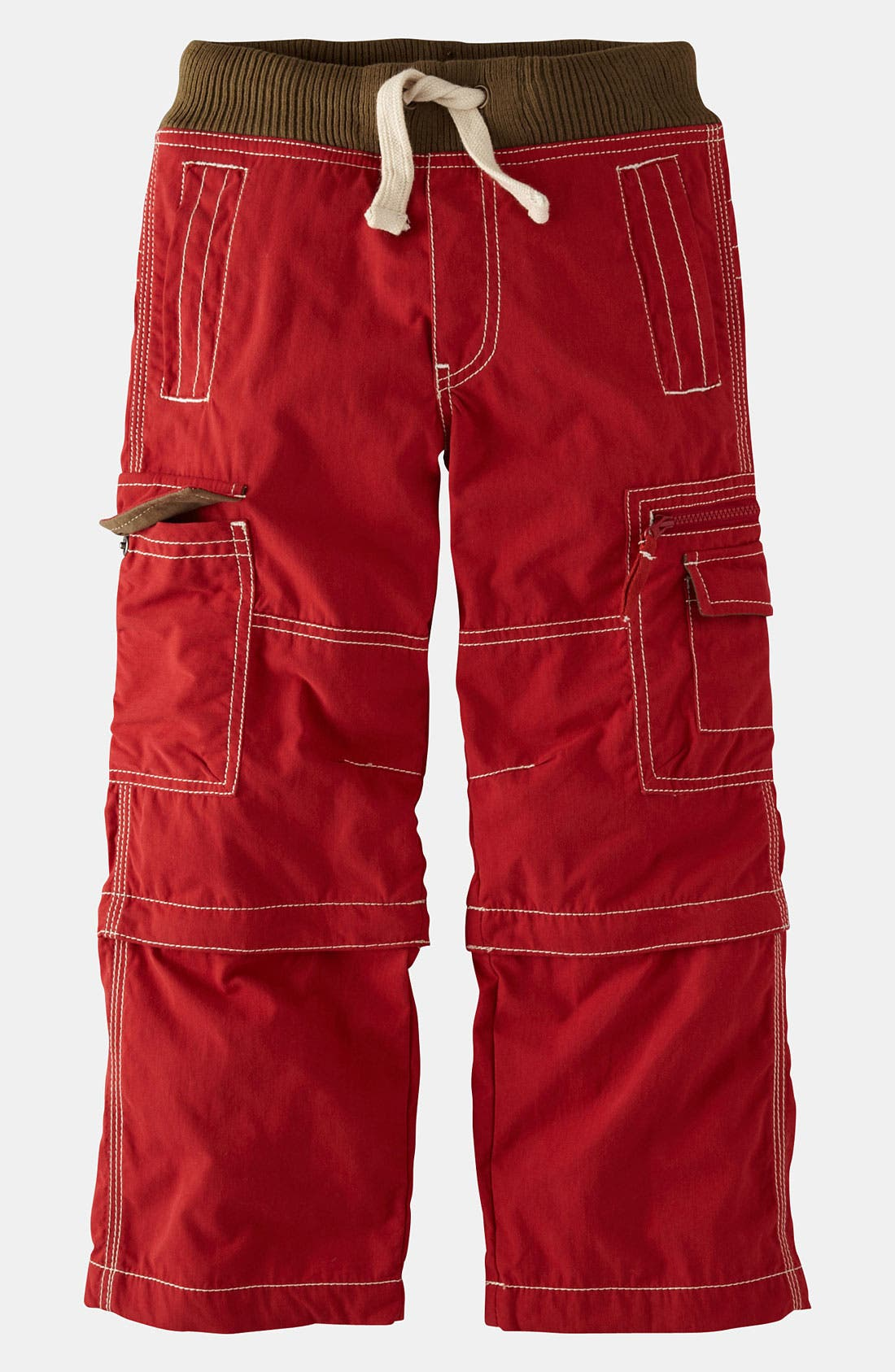 Alternate Image 1 Selected - Mini Boden Convertible Cargo Pants (Toddler, Little Boys & Big Boys)
