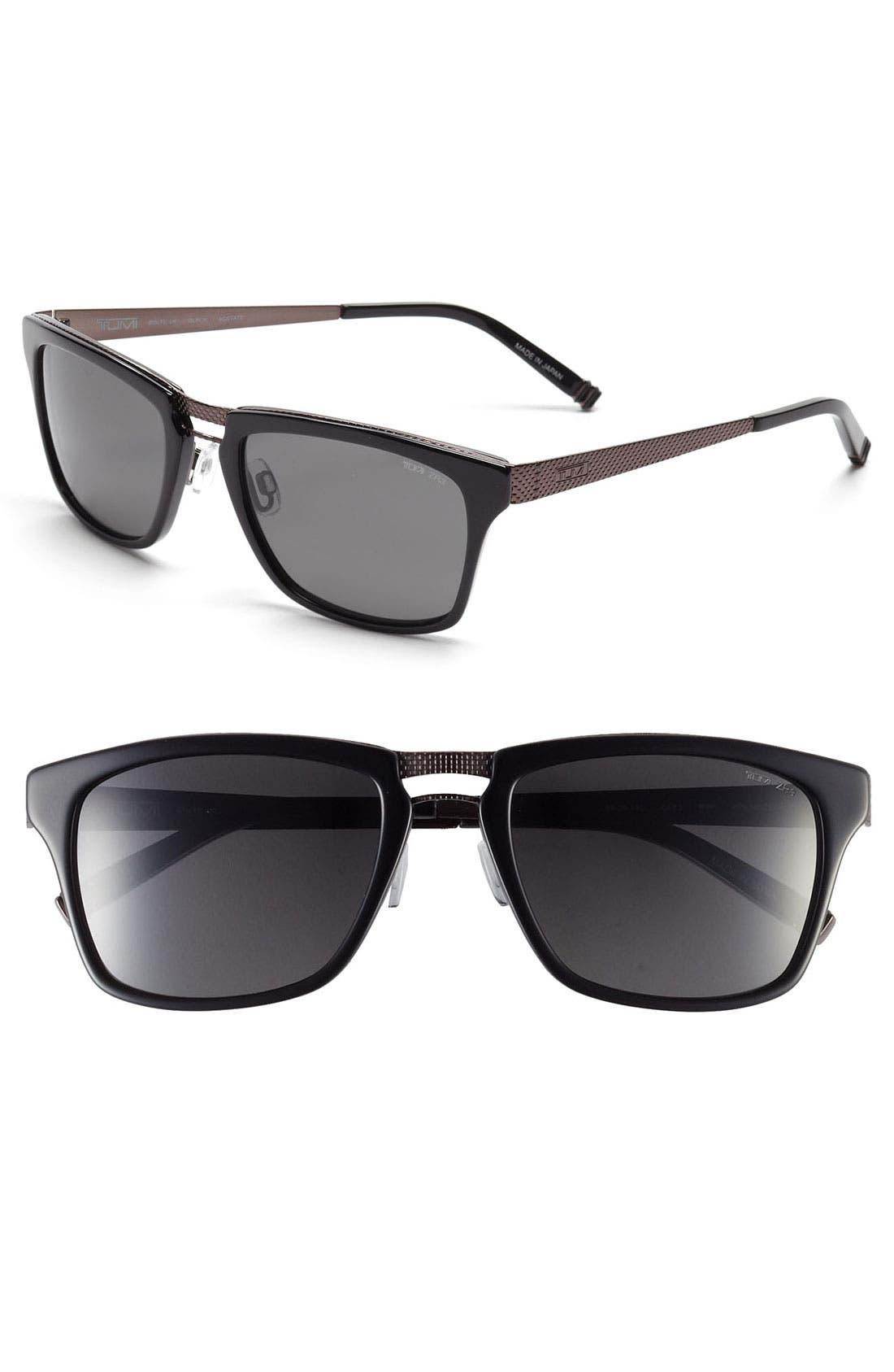 Alternate Image 1 Selected - Tumi 'Bolte' 54mm Polarized Sunglasses
