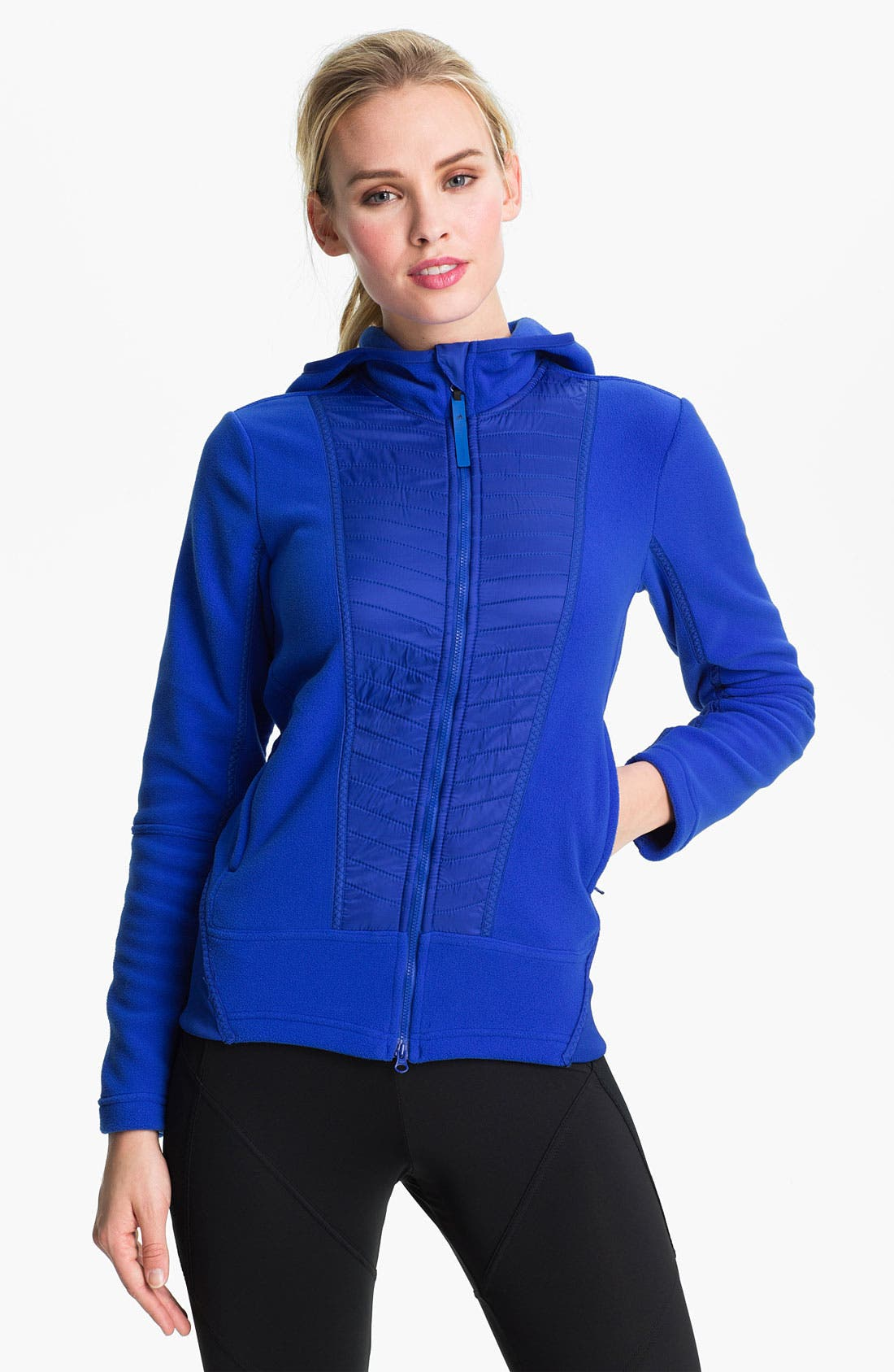 Alternate Image 1 Selected - adidas by Stella McCartney 'Wintersports' Performance Fleece Jacket