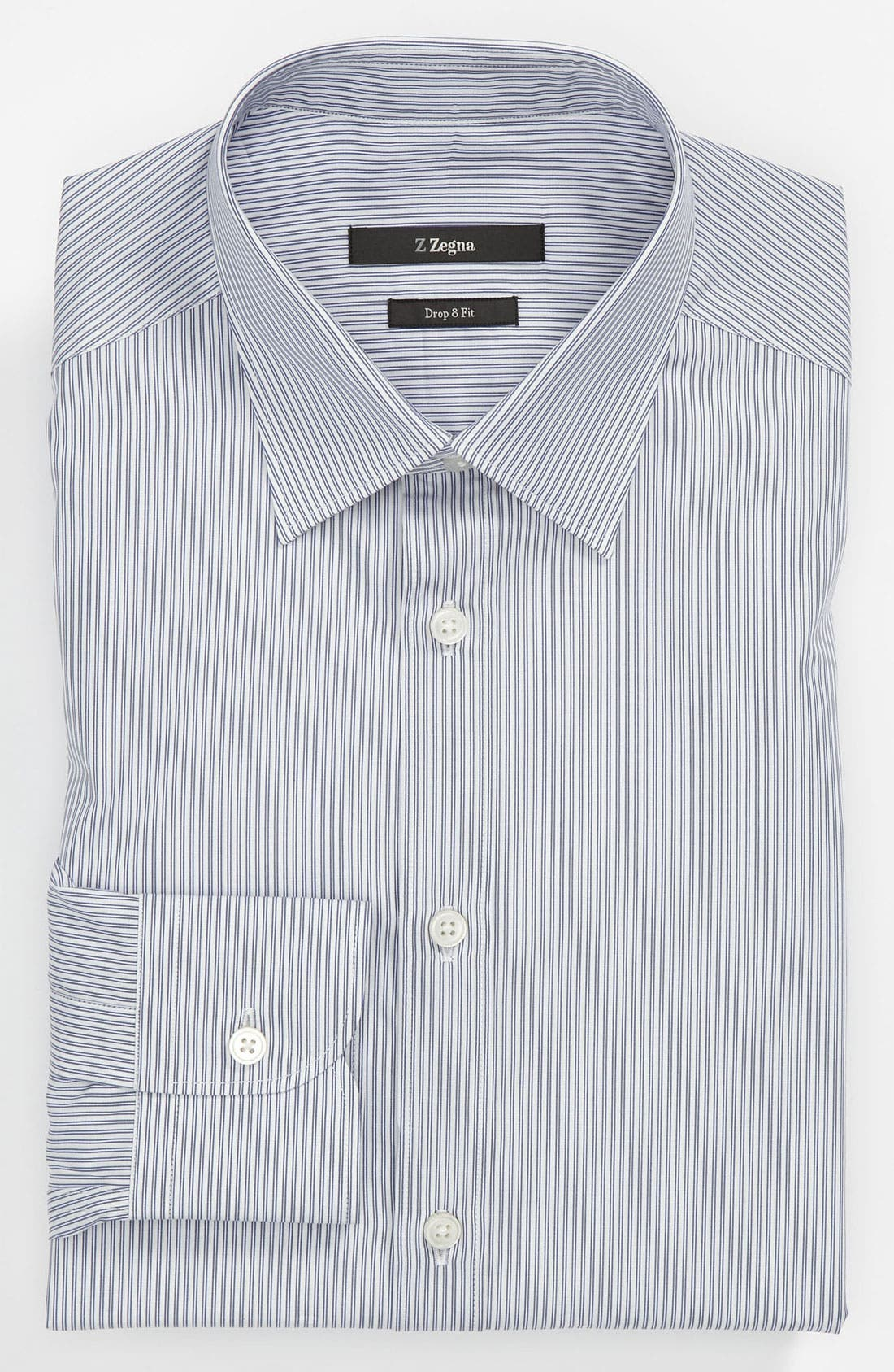 Main Image - Z Zegna Drop 8 Fit Dress Shirt